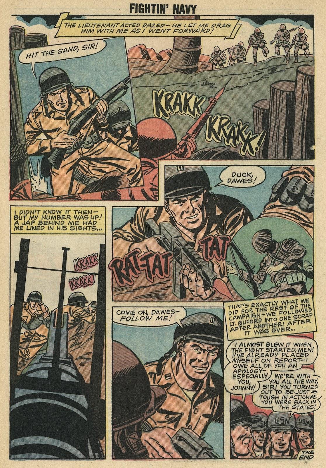 Read online Fightin' Navy comic -  Issue #86 - 32