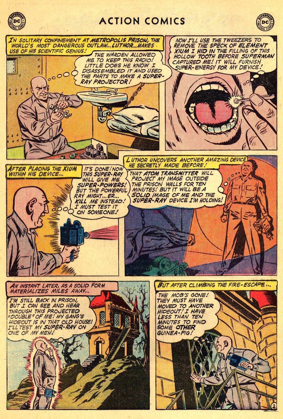 Read online Action Comics (1938) comic -  Issue #257 - 4