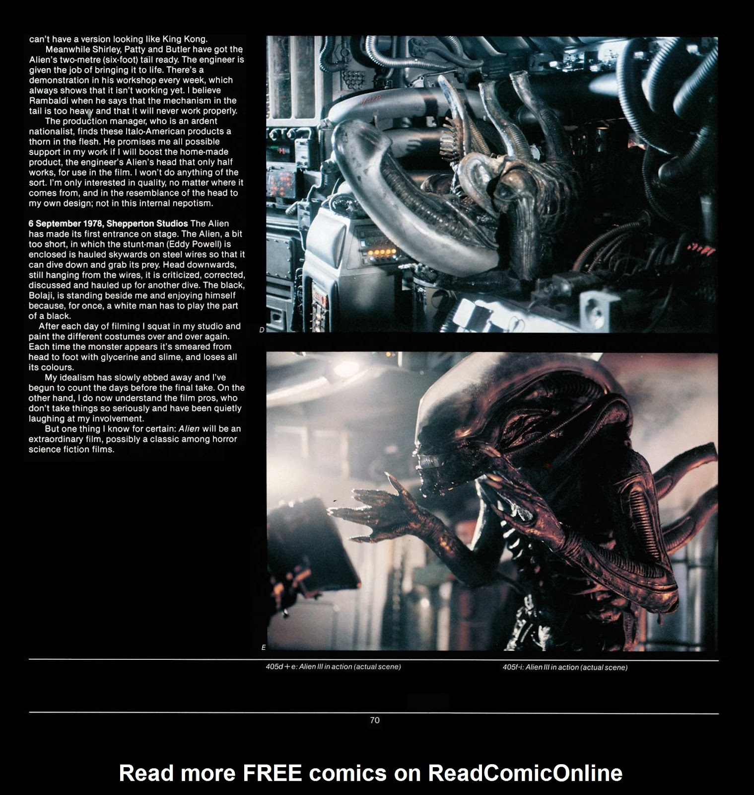 Read online Giger's Alien comic -  Issue # TPB - 72