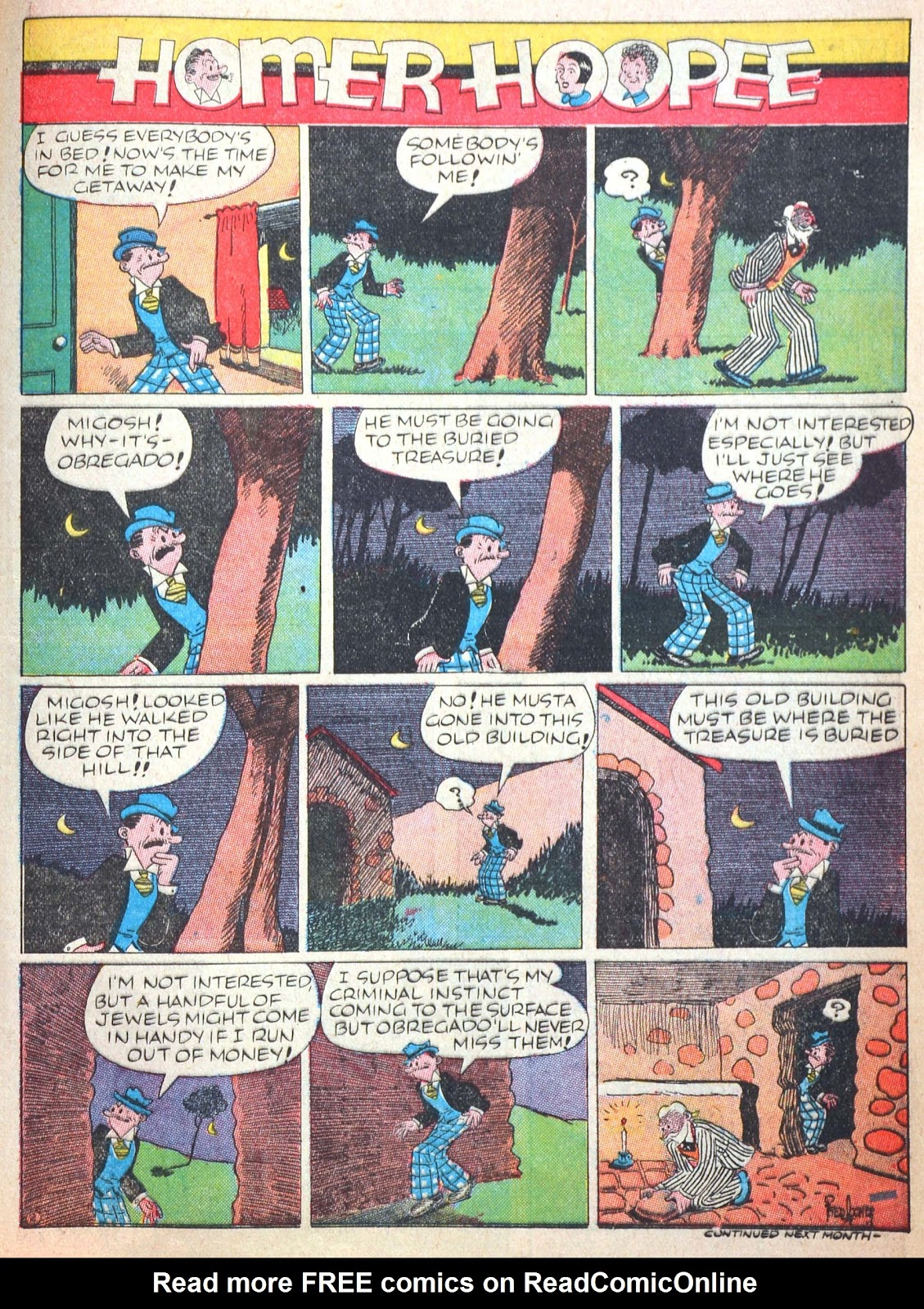 Read online Famous Funnies comic -  Issue #52 - 62