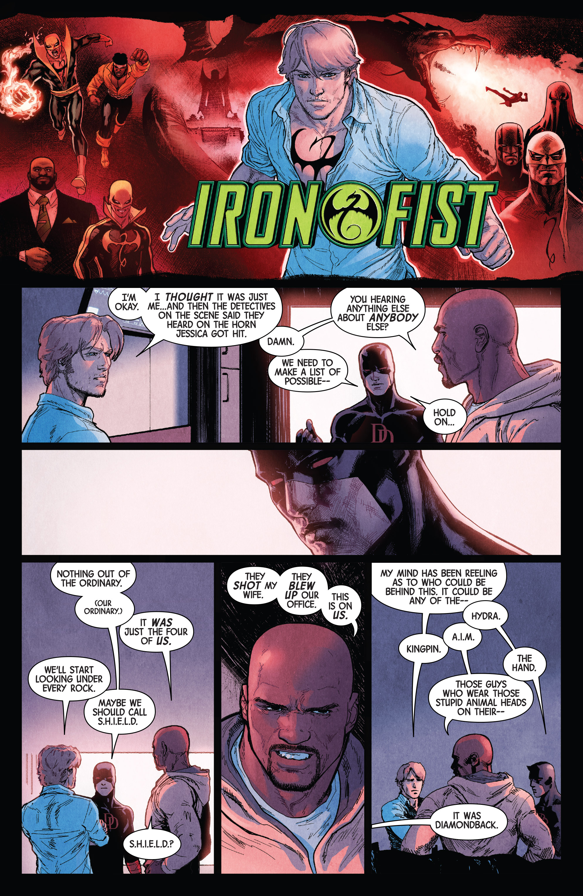 Read online Defenders (2017) comic -  Issue #1 - 11