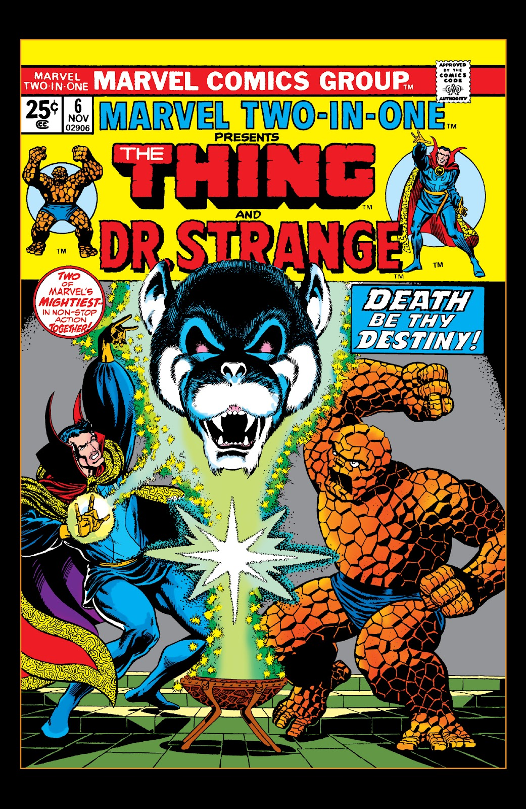Read online Marvel Two-In-One Epic Collection: Cry Monster comic -  Issue # TPB (Part 2) - 42