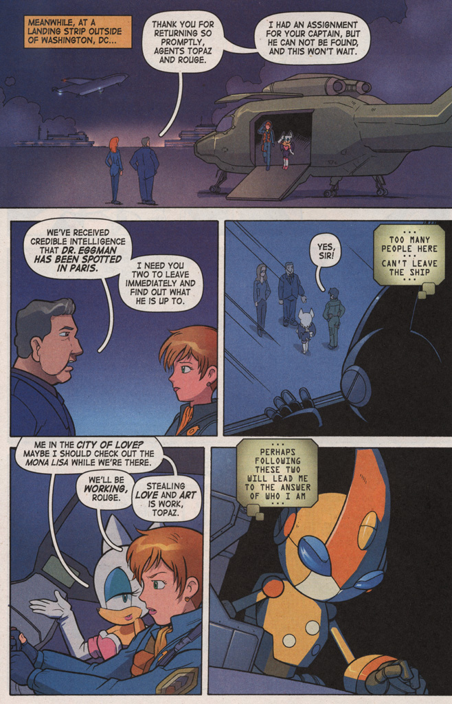 Read online Sonic X comic -  Issue #7 - 32
