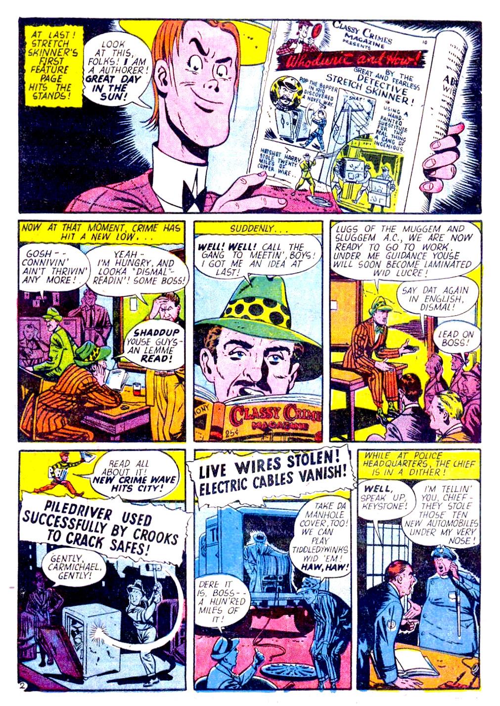Read online Sensation (Mystery) Comics comic -  Issue #29 - 50