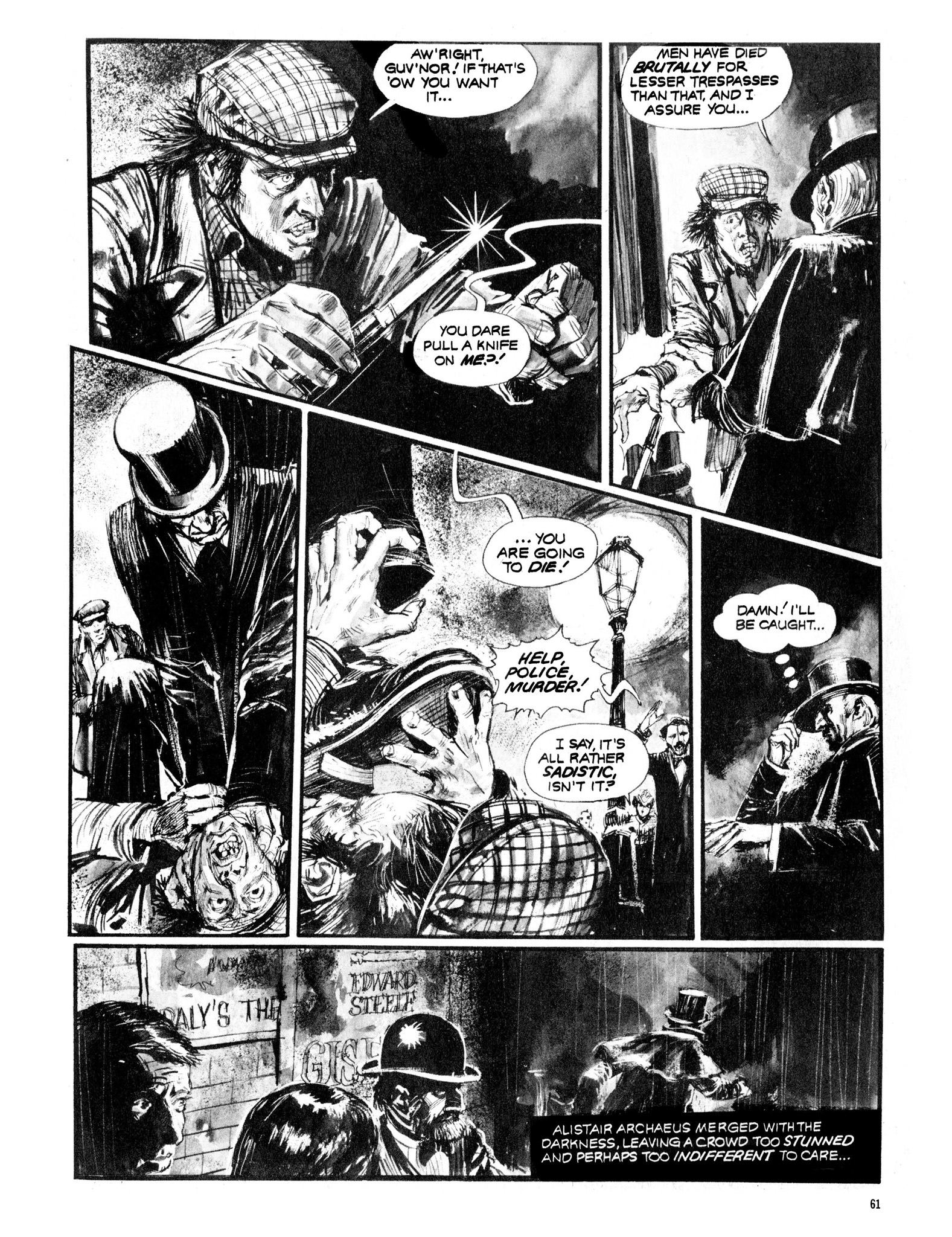 Read online Eerie Archives comic -  Issue # TPB 13 - 62