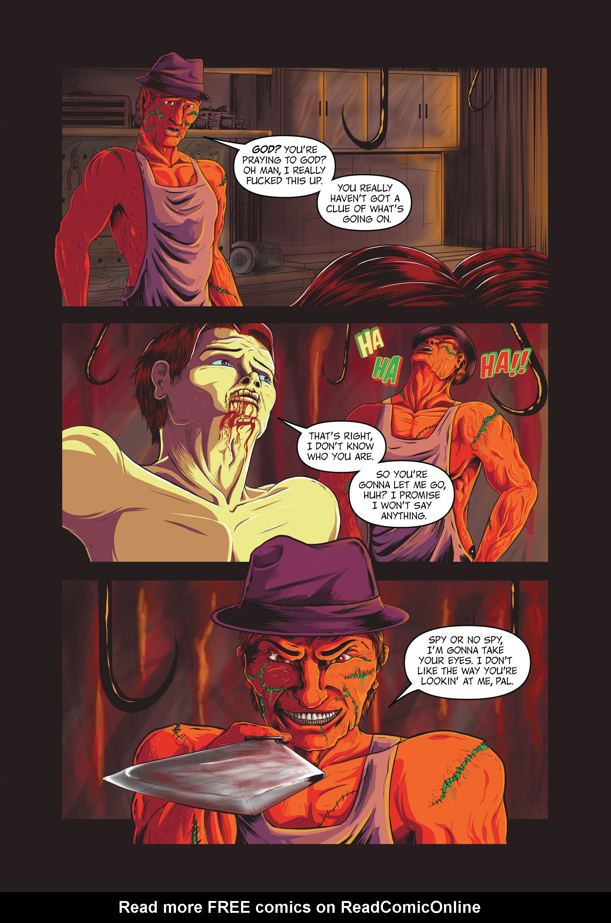 Read online Redemption Heights comic -  Issue # Full - 42