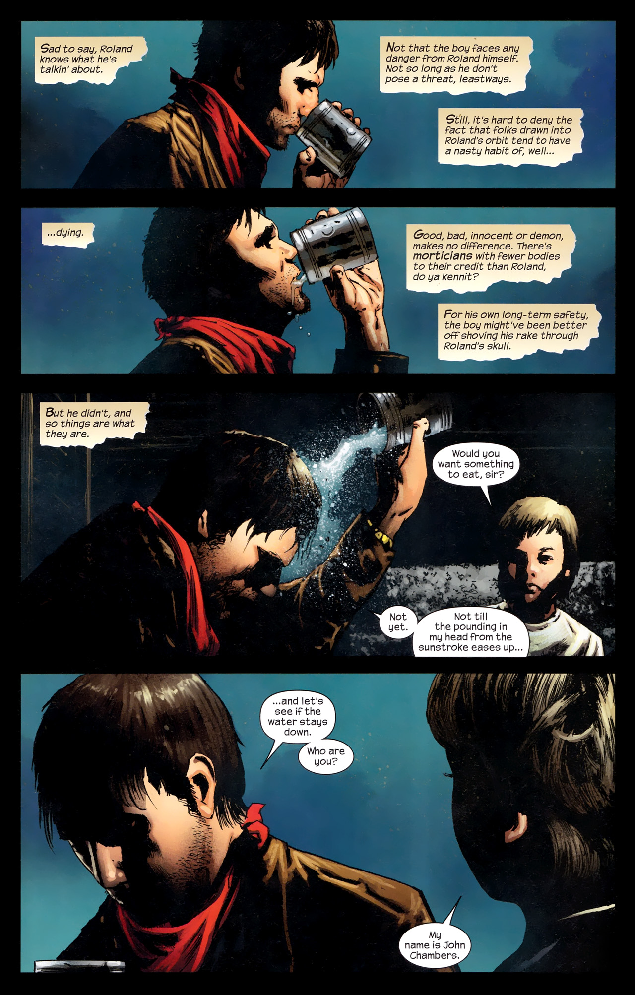 Read online Dark Tower: The Gunslinger - The Way Station comic -  Issue #2 - 4