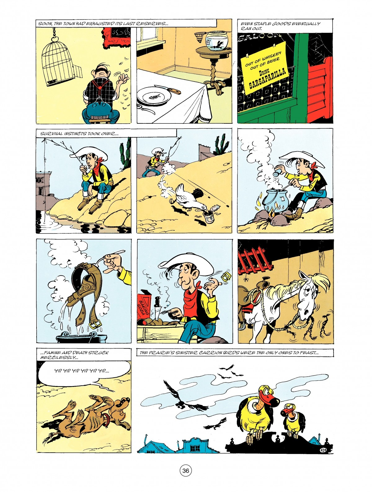 Read online A Lucky Luke Adventure comic -  Issue #43 - 36