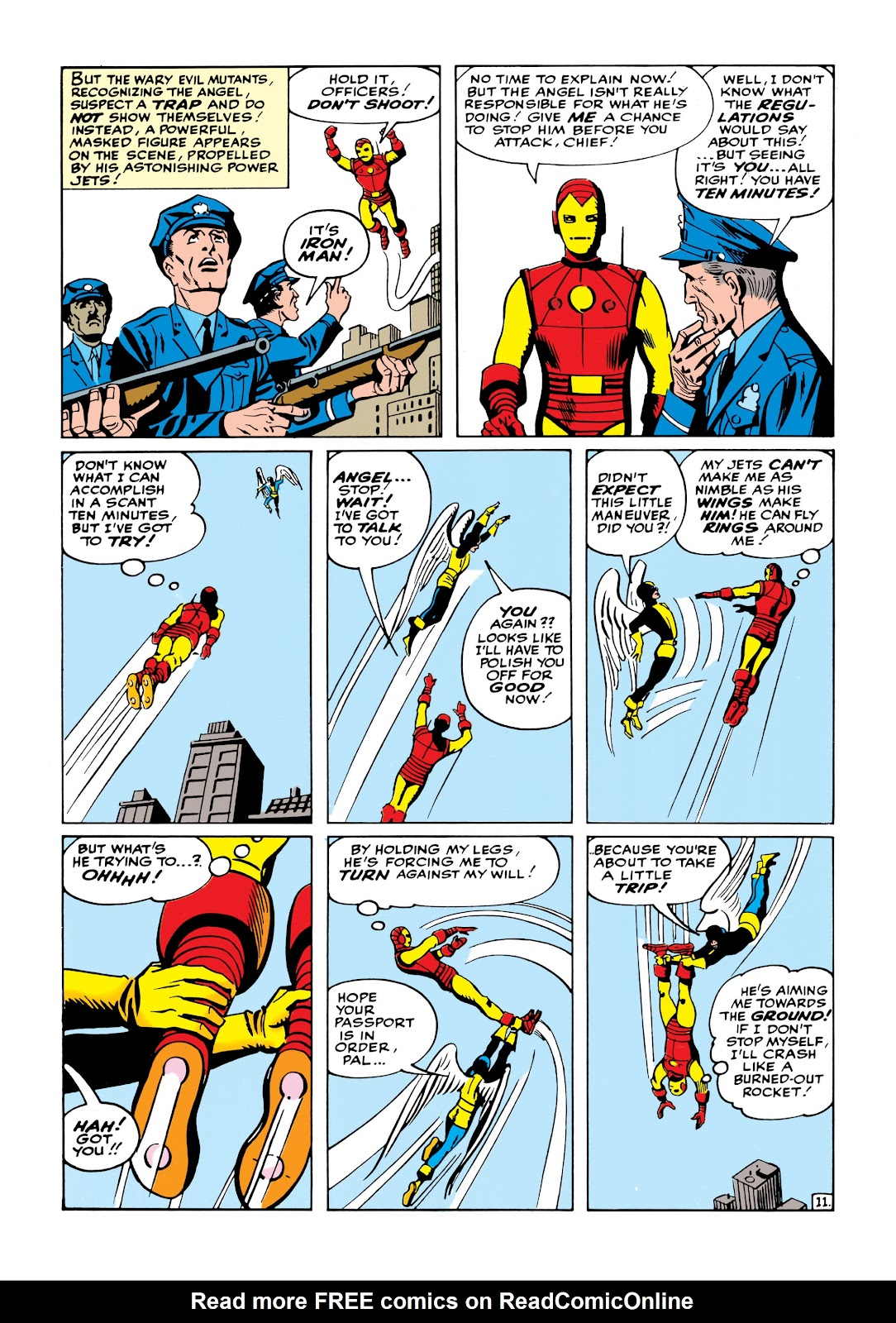 Read online Marvel Masterworks: The Invincible Iron Man comic -  Issue # TPB 1 (Part 2) - 69