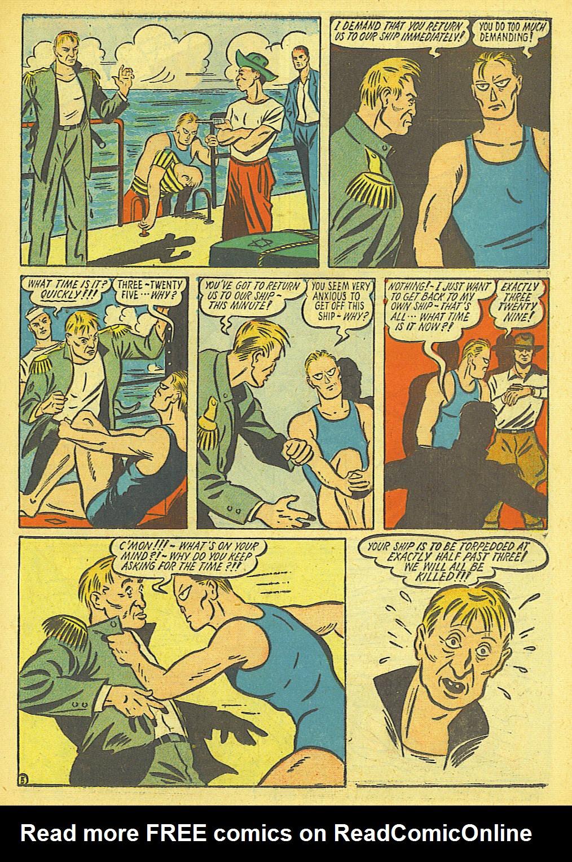 Read online Amazing Man Comics comic -  Issue #19 - 19