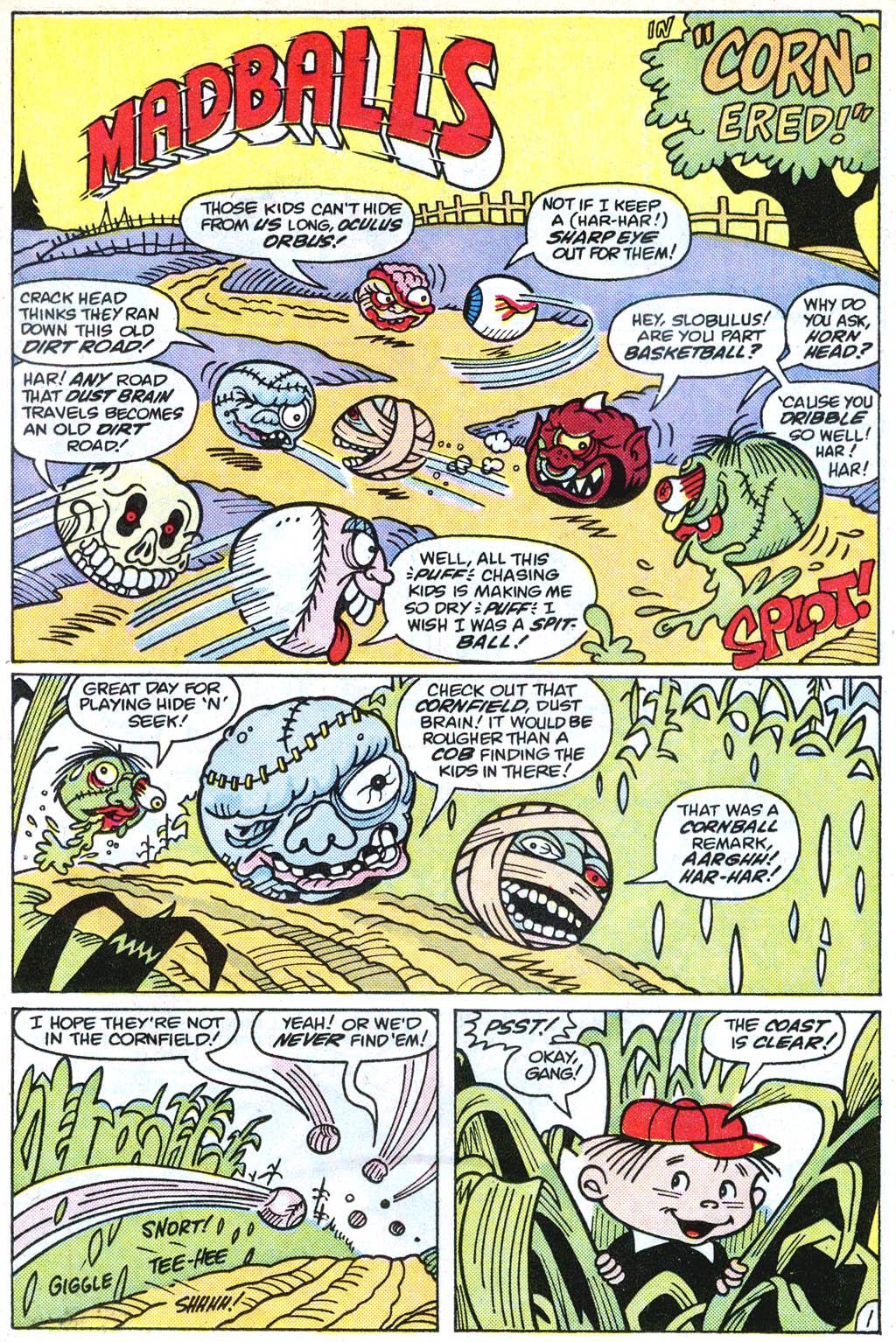 Madballs issue 1 - Page 13