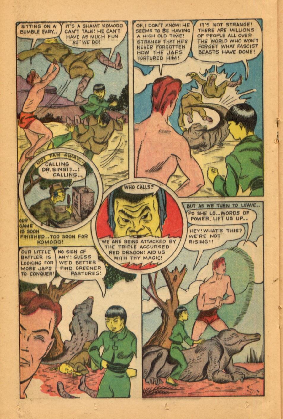 Read online Super-Magician Comics comic -  Issue #45 - 28