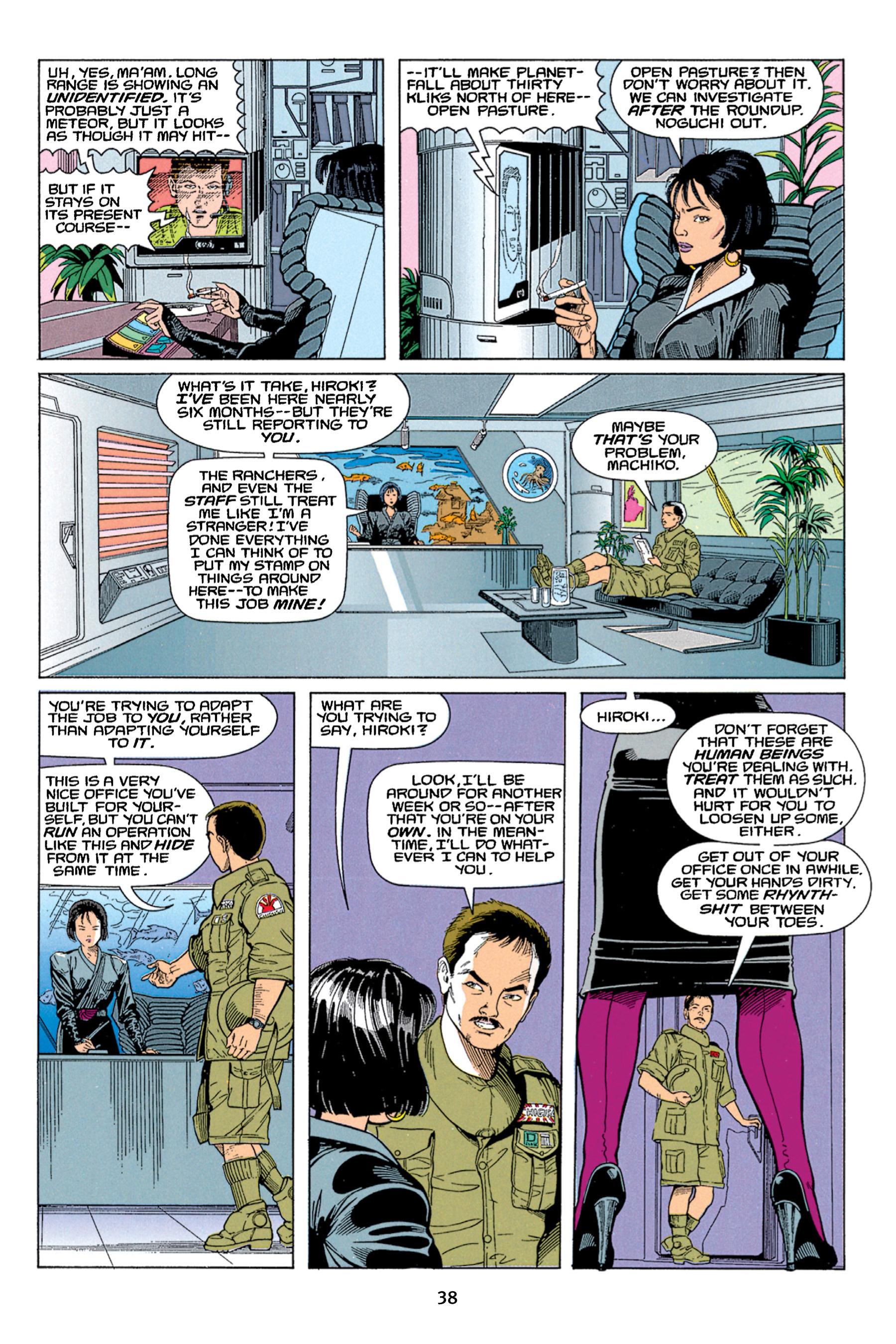 Read online Aliens vs. Predator Omnibus comic -  Issue # _TPB 1 Part 1 - 38