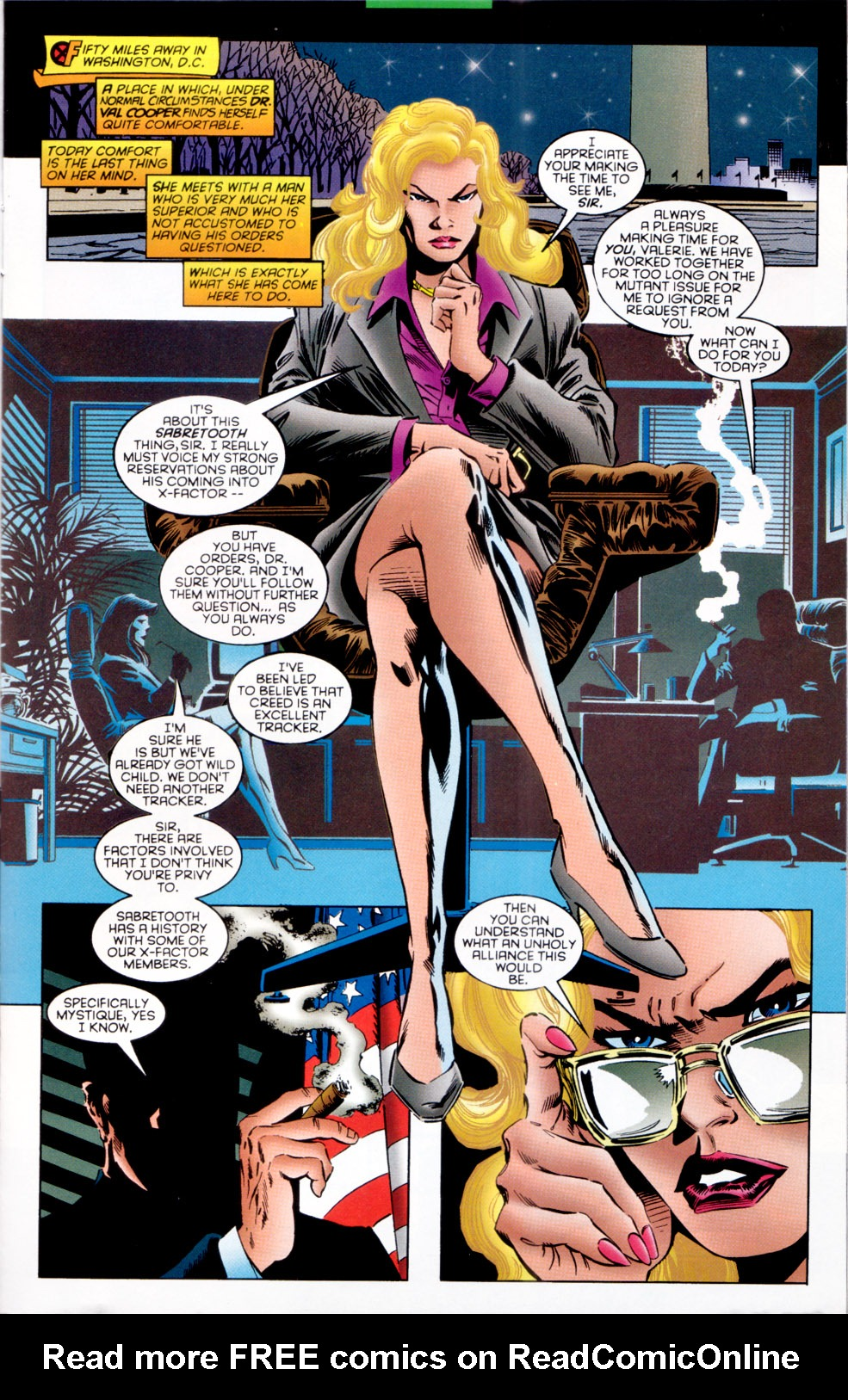 Read online X-Factor (1986) comic -  Issue #121 - 7