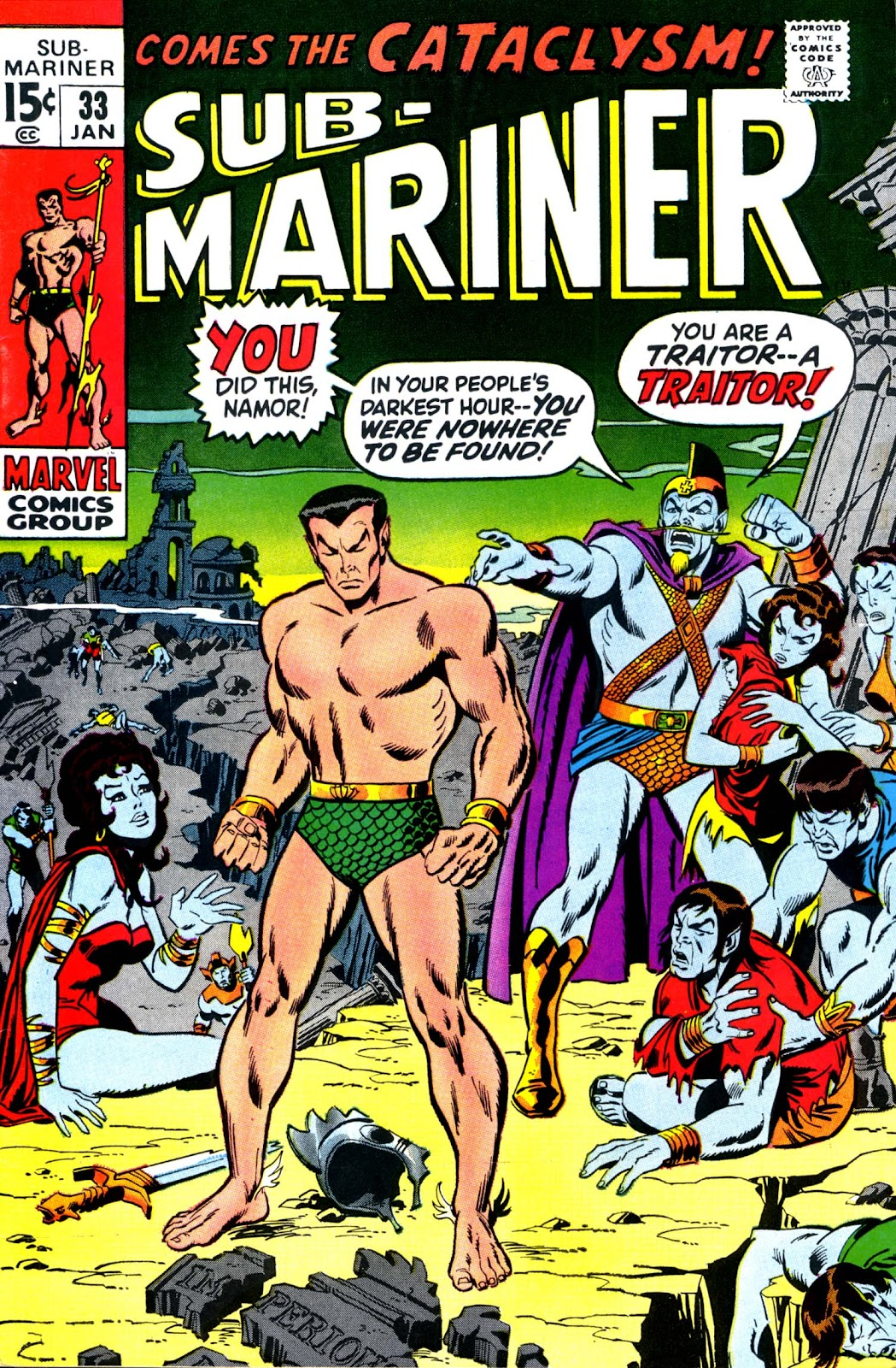 The Sub-Mariner 33 Page 1