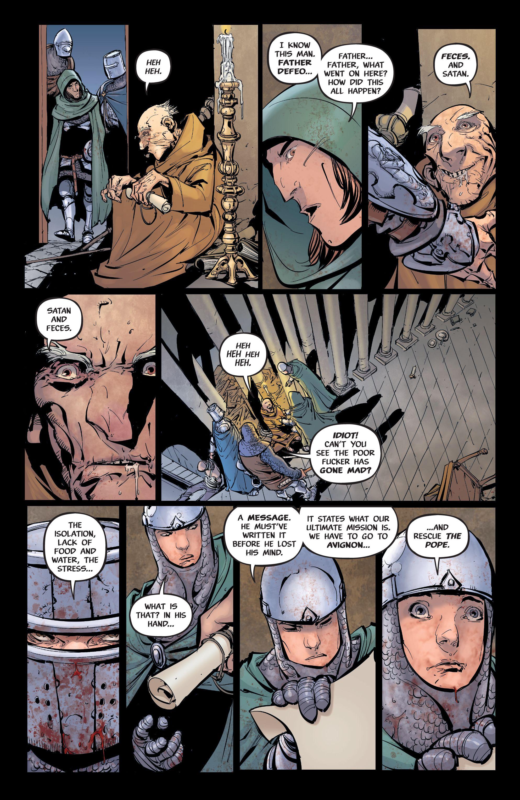 Read online Pestilence comic -  Issue #2 - 21