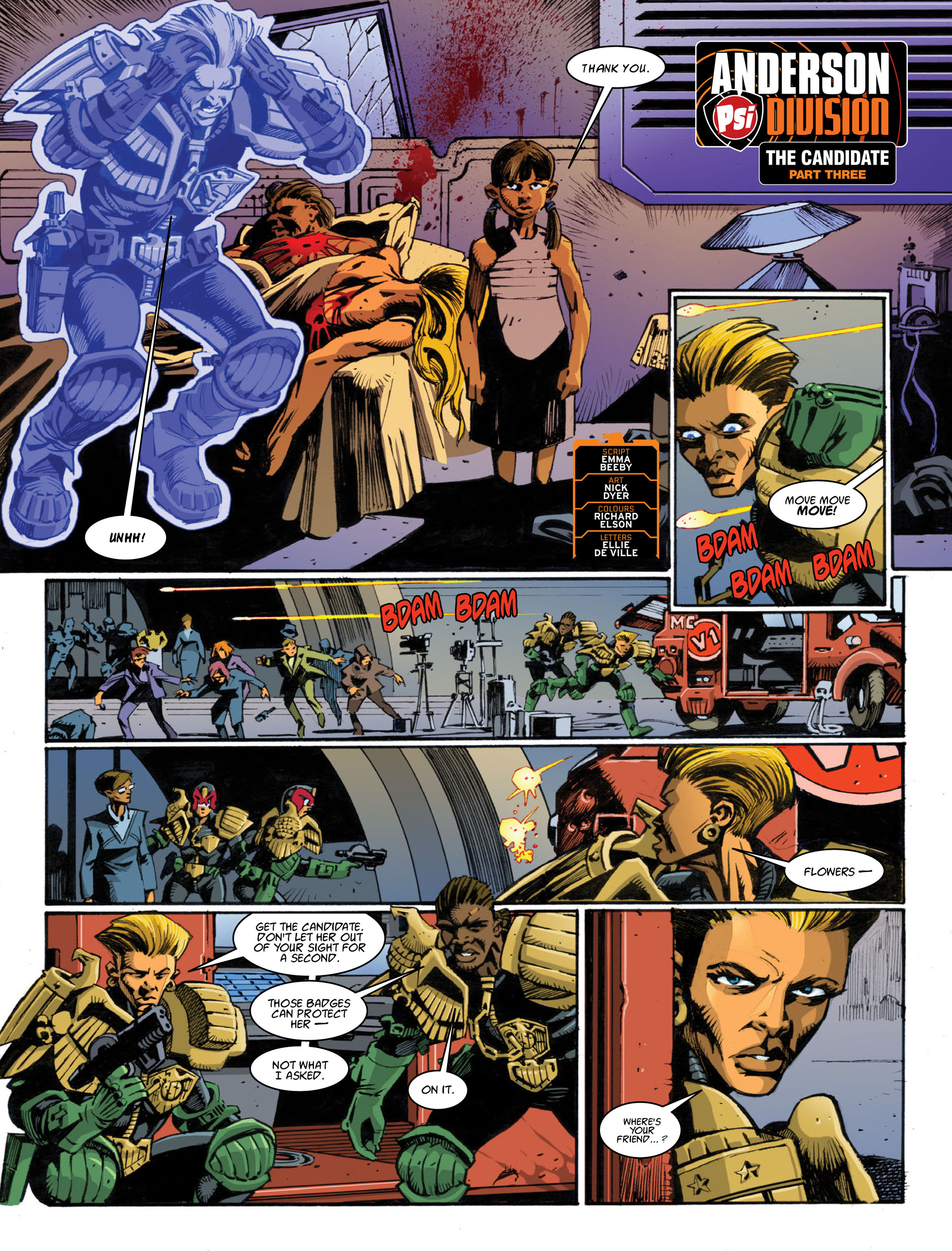 Read online 2000 AD comic -  Issue #1995 - 25