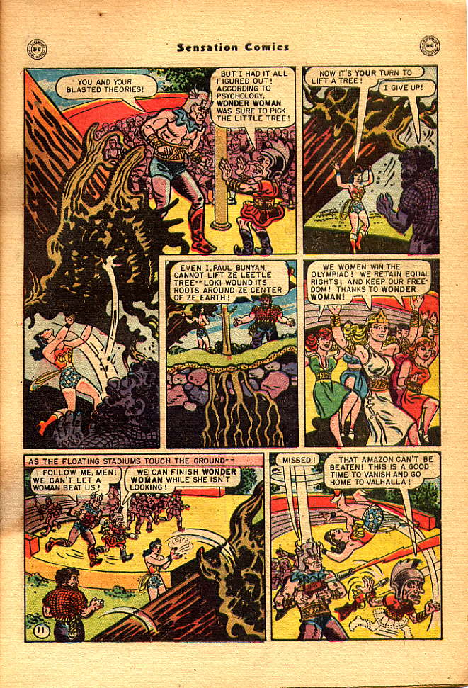 Read online Sensation (Mystery) Comics comic -  Issue #83 - 13