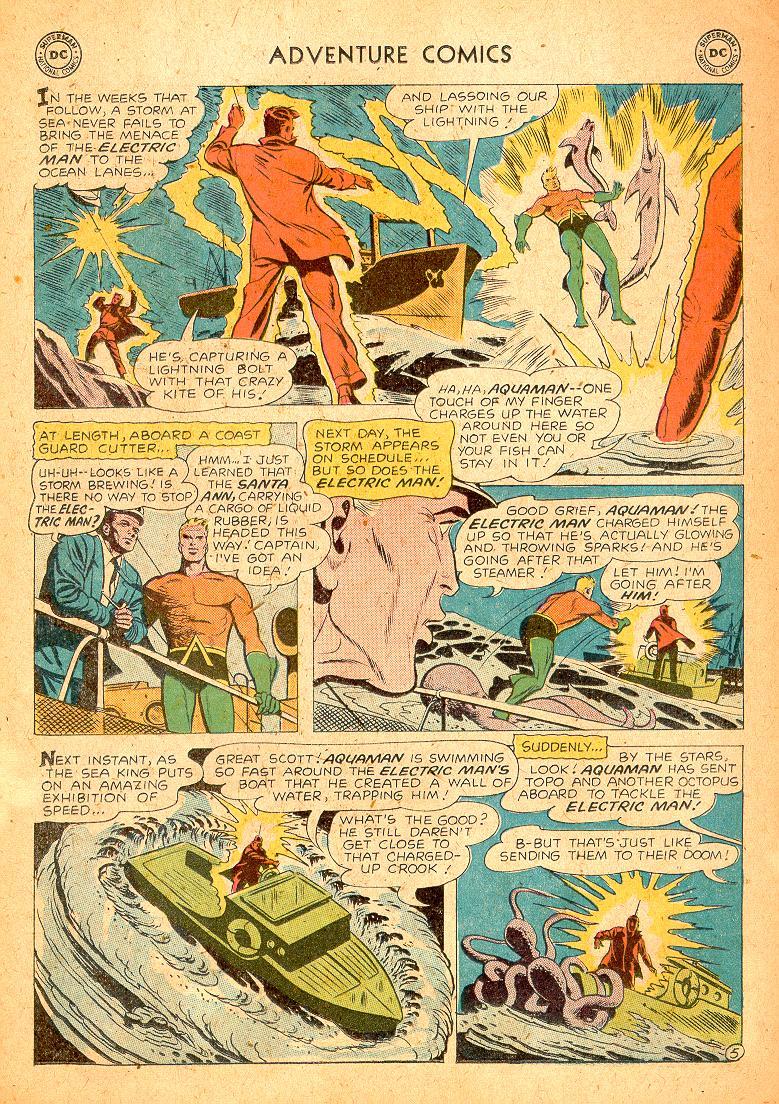 Read online Adventure Comics (1938) comic -  Issue #254 - 22