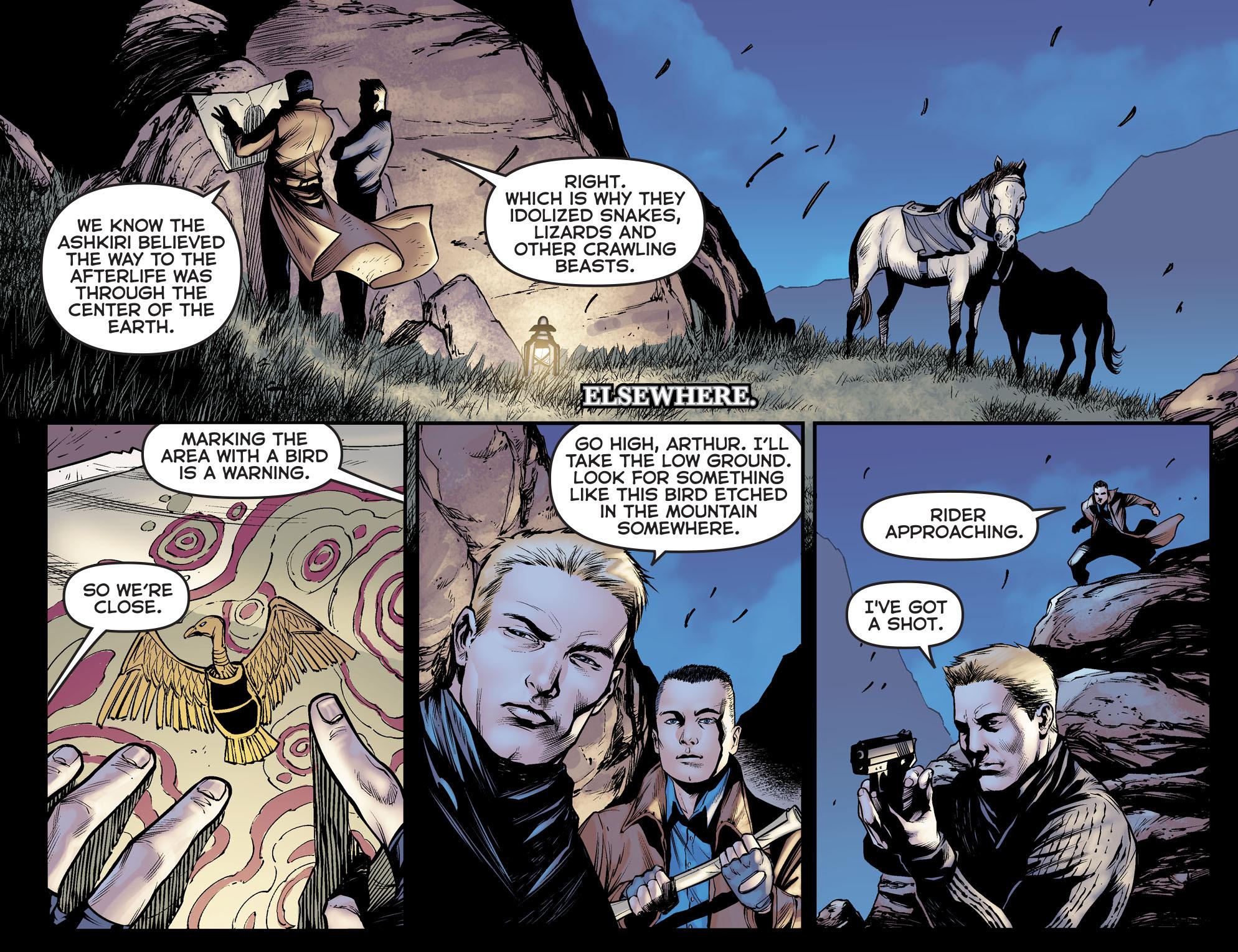 Read online Arrow: The Dark Archer comic -  Issue #5 - 13
