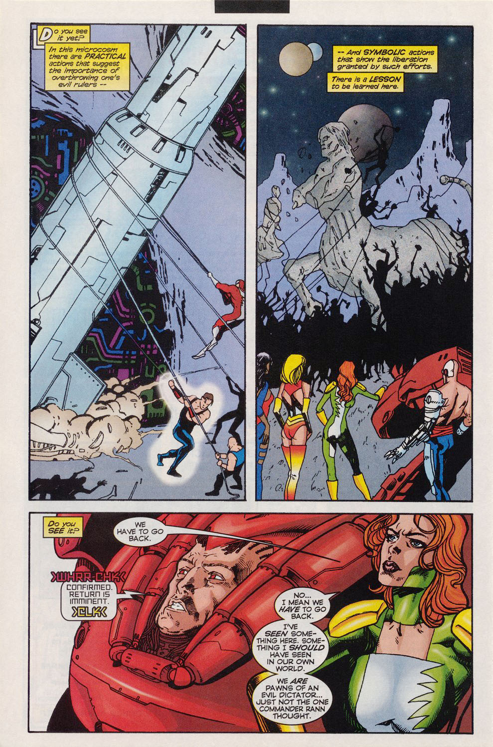 Read online Alpha Flight (1997) comic -  Issue #11 - 21