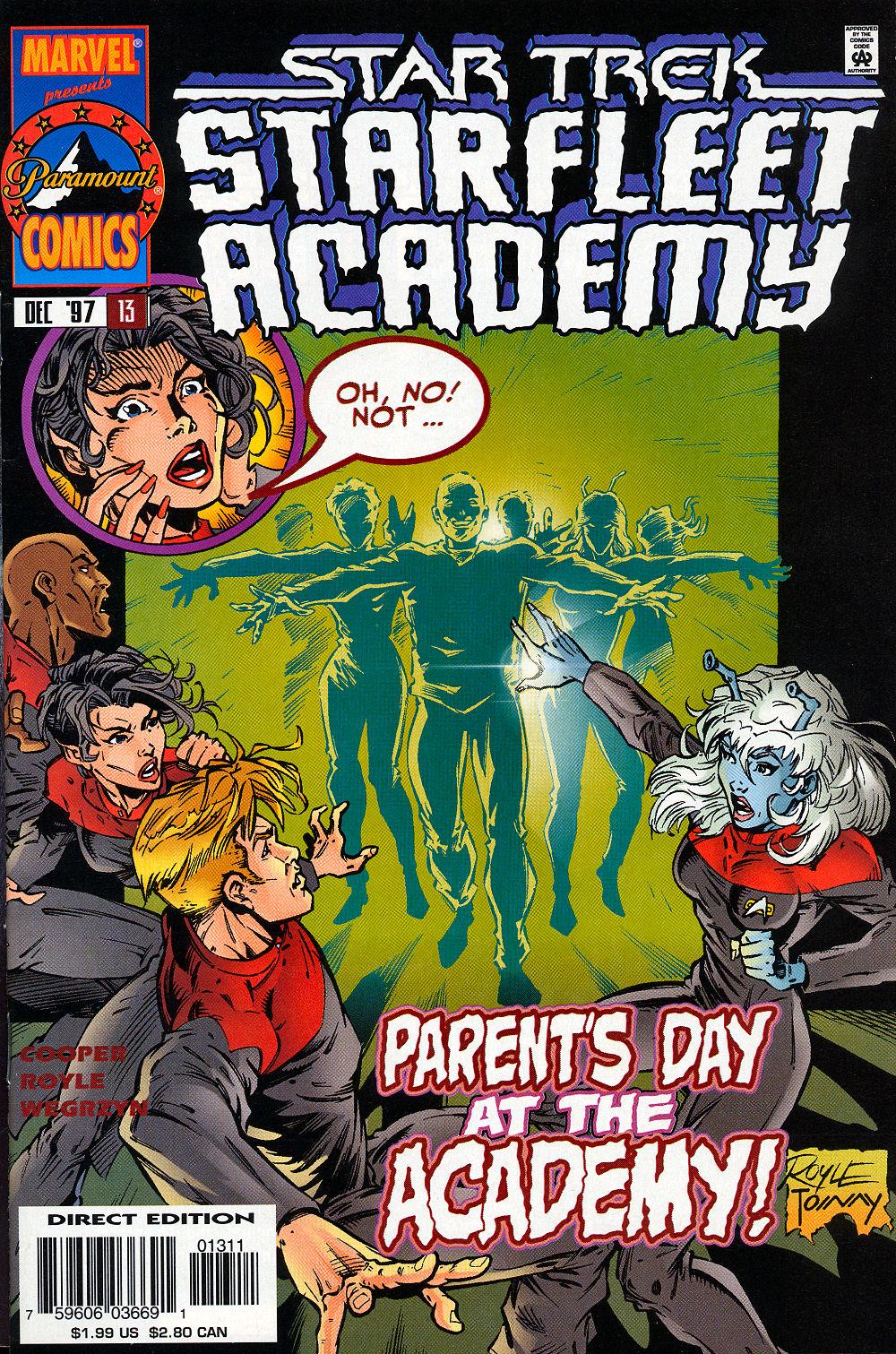 Star Trek: Starfleet Academy (1996) issue 13 - Page 1