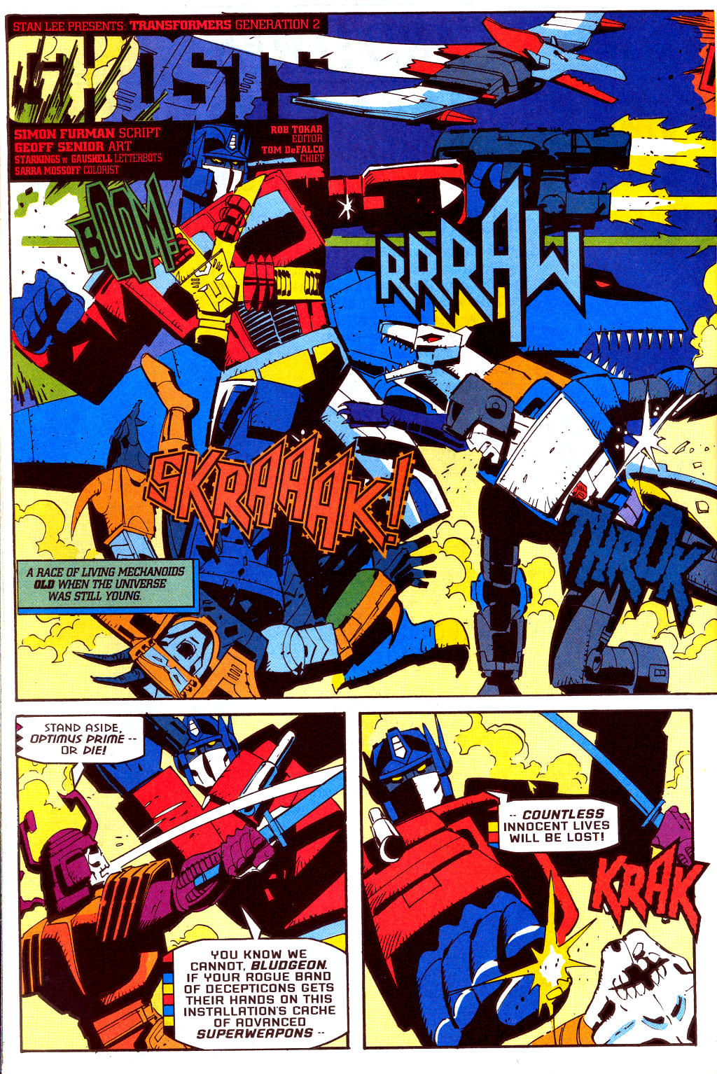 Read online Transformers: Generation 2 comic -  Issue #2 - 18