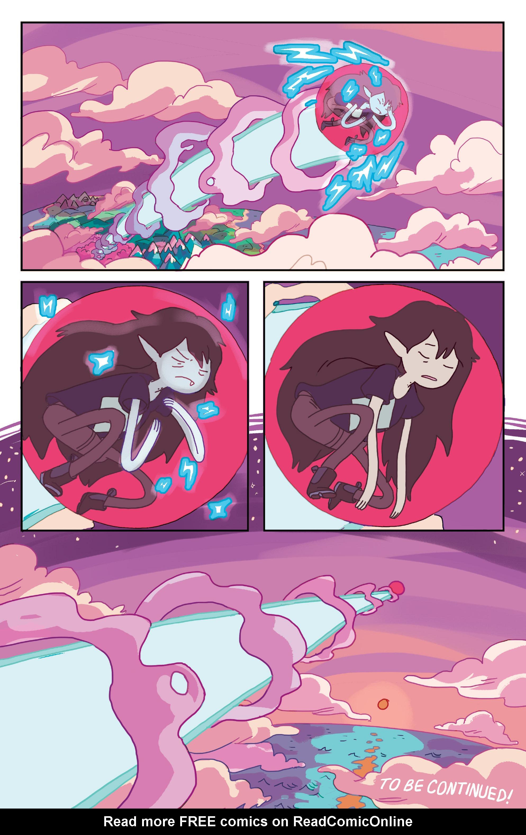 Read online Adventure Time: Marceline Gone Adrift comic -  Issue #1 - 23