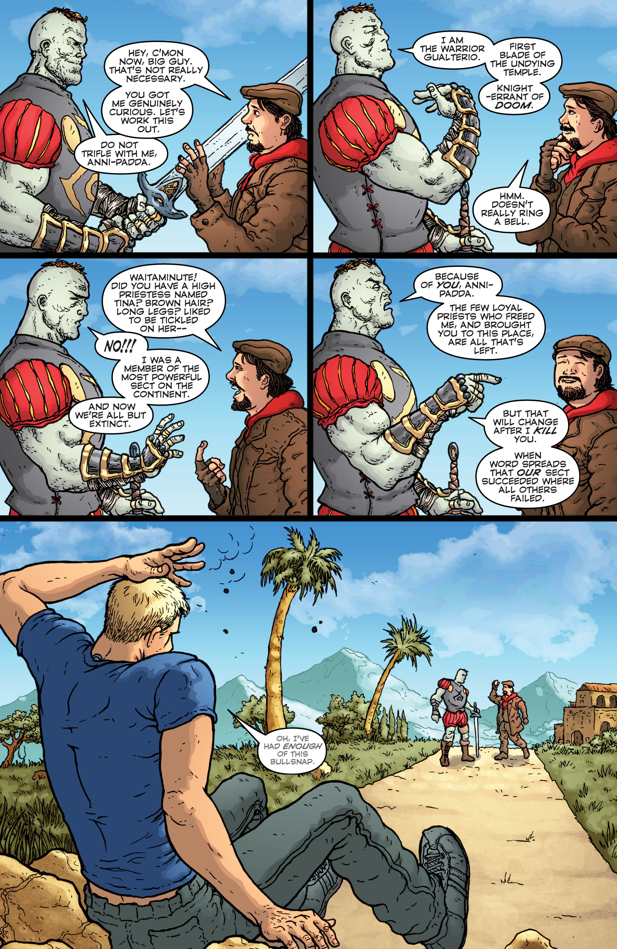 Read online Archer and Armstrong comic -  Issue #Archer and Armstrong _TPB 7 - 36