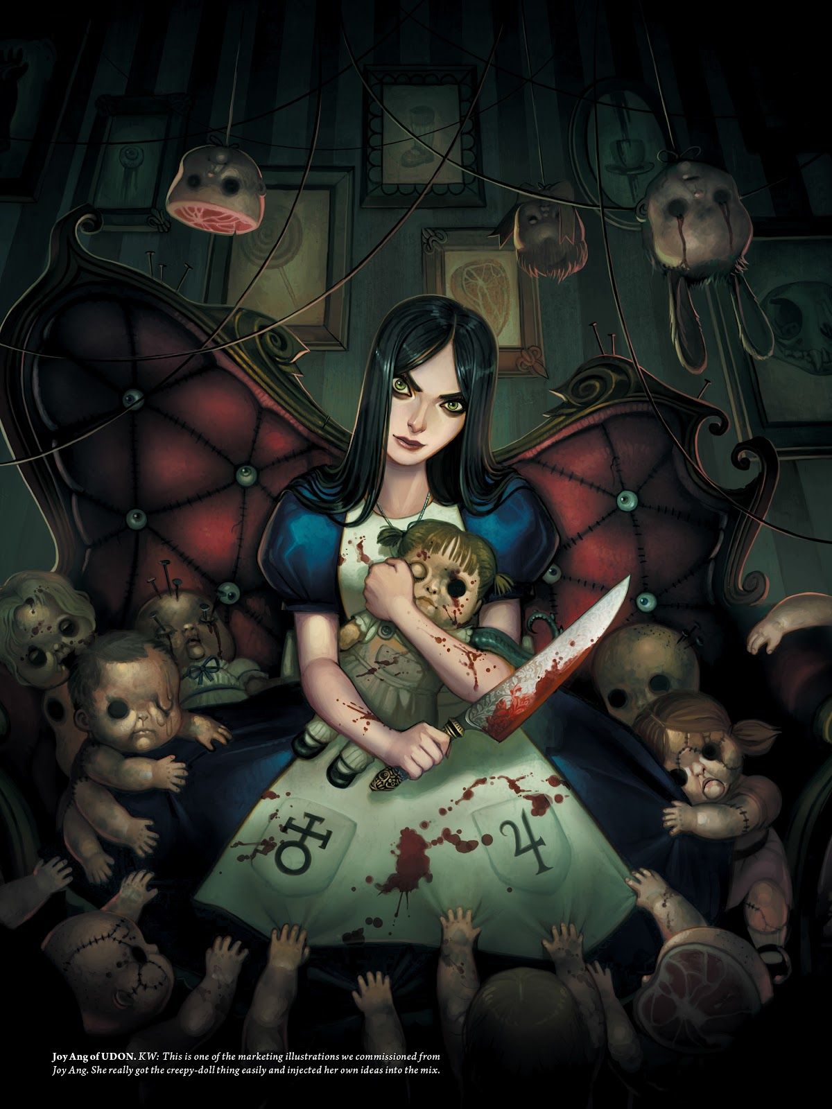 Read online The Art of Alice: Madness Returns comic -  Issue # TPB (Part 2) - 66