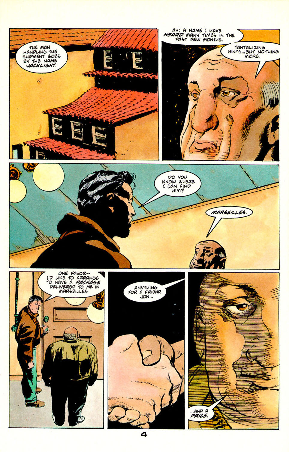 Jon Sable, Freelance issue 55 - Page 5