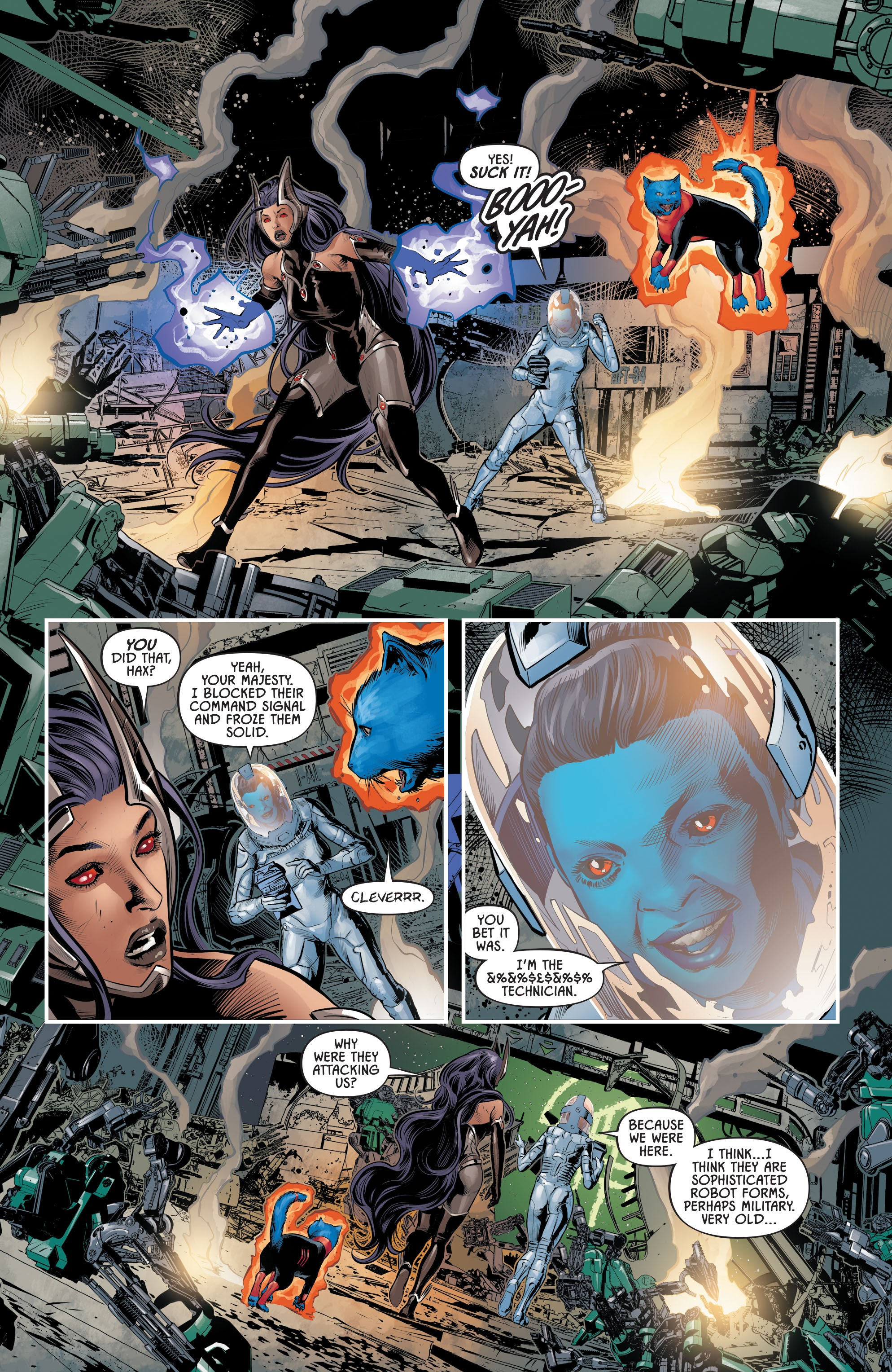 Justice League Odyssey #17 #17 - English 9