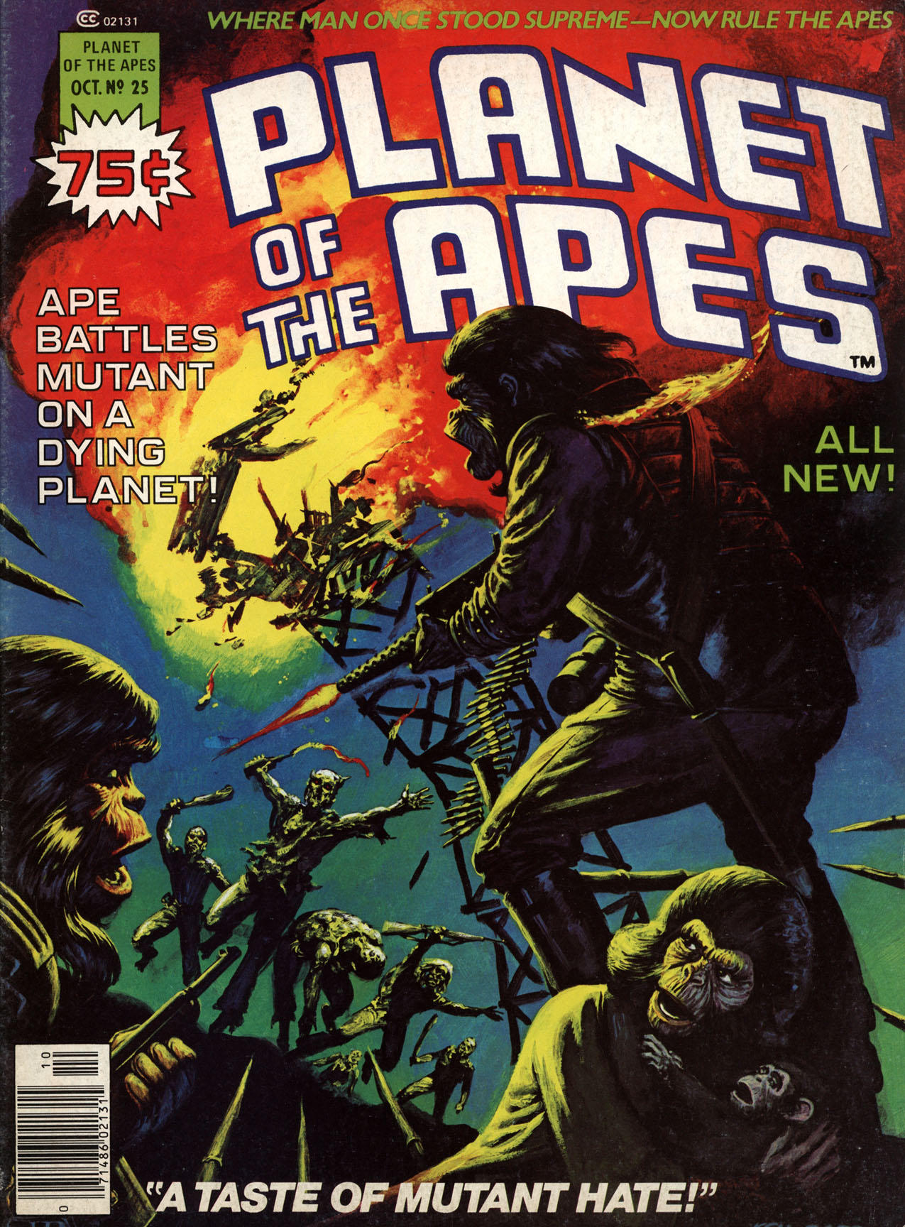 Planet of the Apes (1974) 25 Page 1