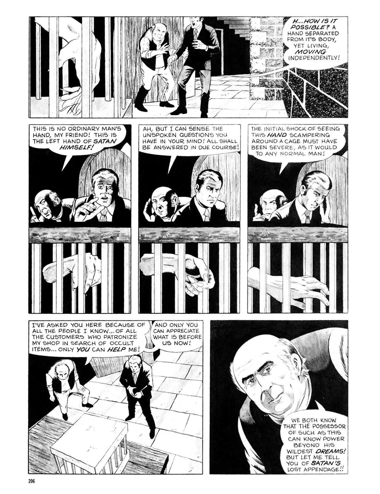 Read online Eerie Archives comic -  Issue # TPB 6 - 206