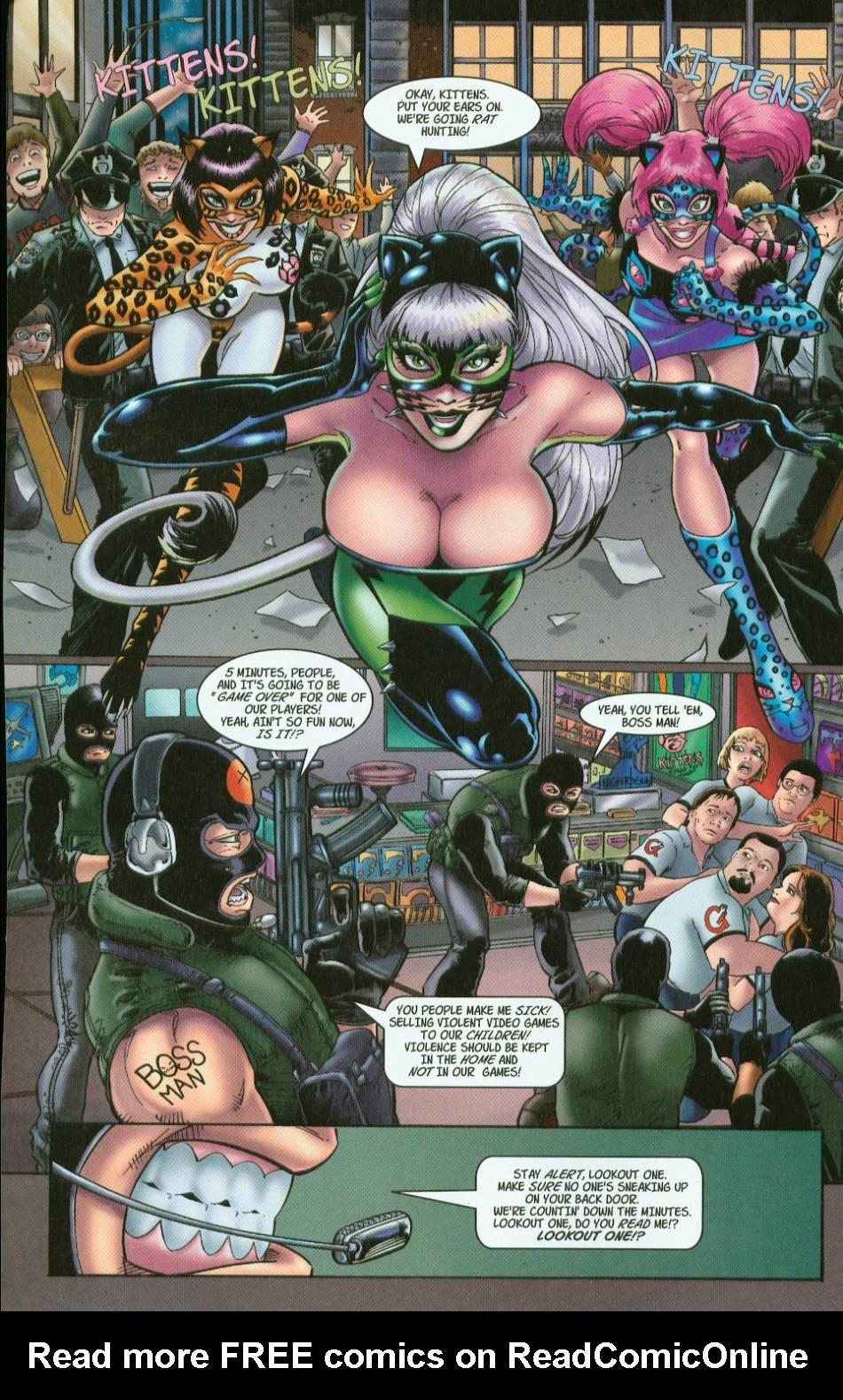 Read online 3 Little Kittens: Purrr-fect Weapons comic -  Issue #1 - 6