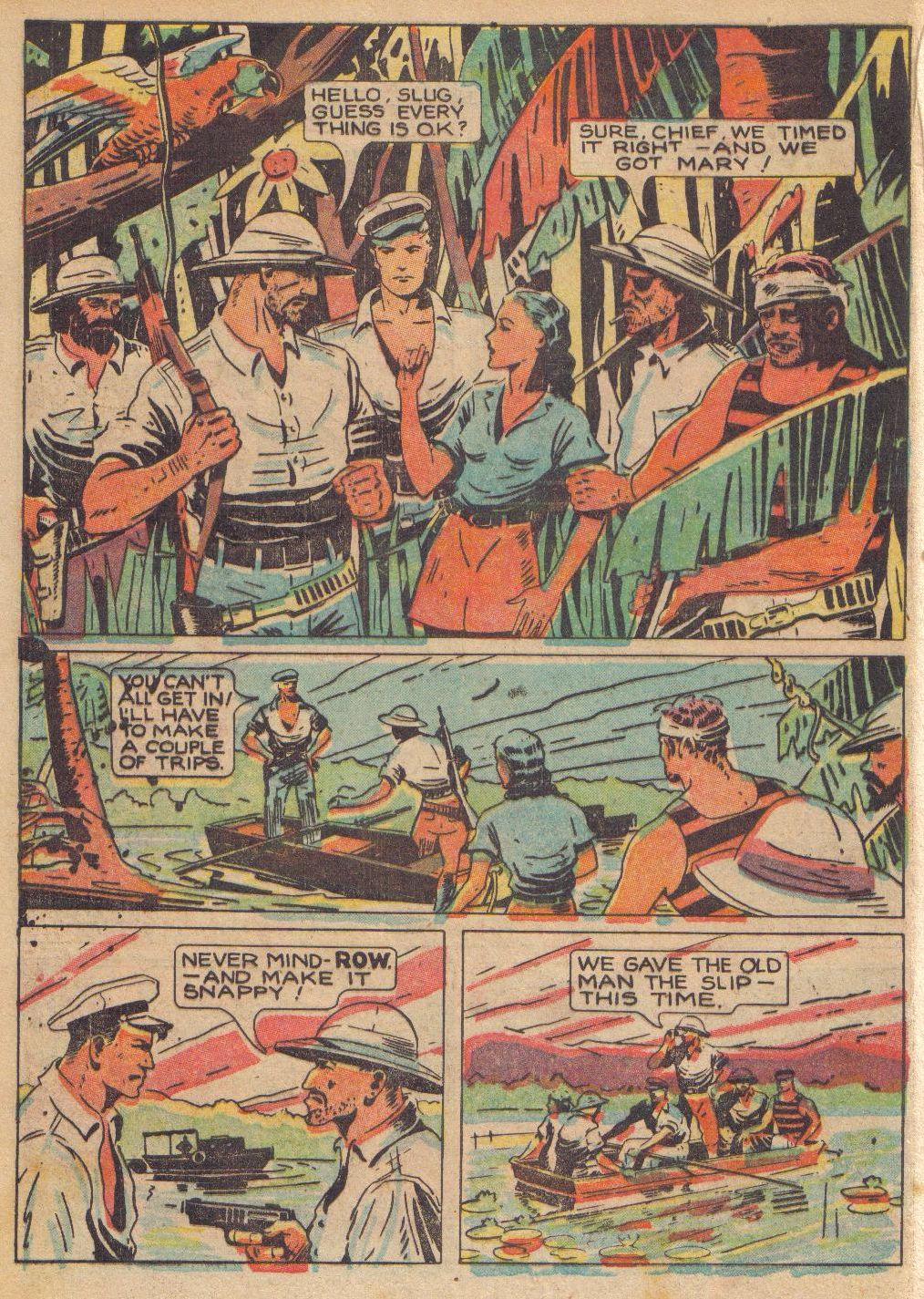 Read online Adventure Comics (1938) comic -  Issue #24 - 36