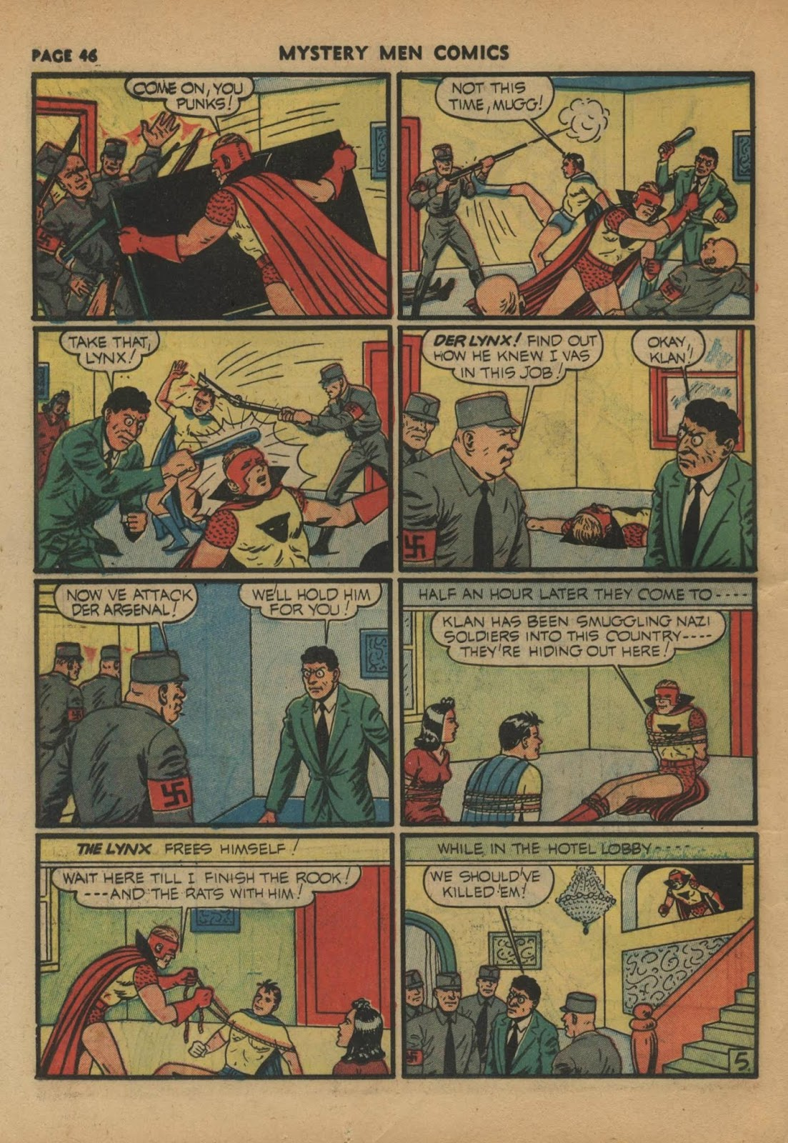 Mystery Men Comics issue 24 - Page 48