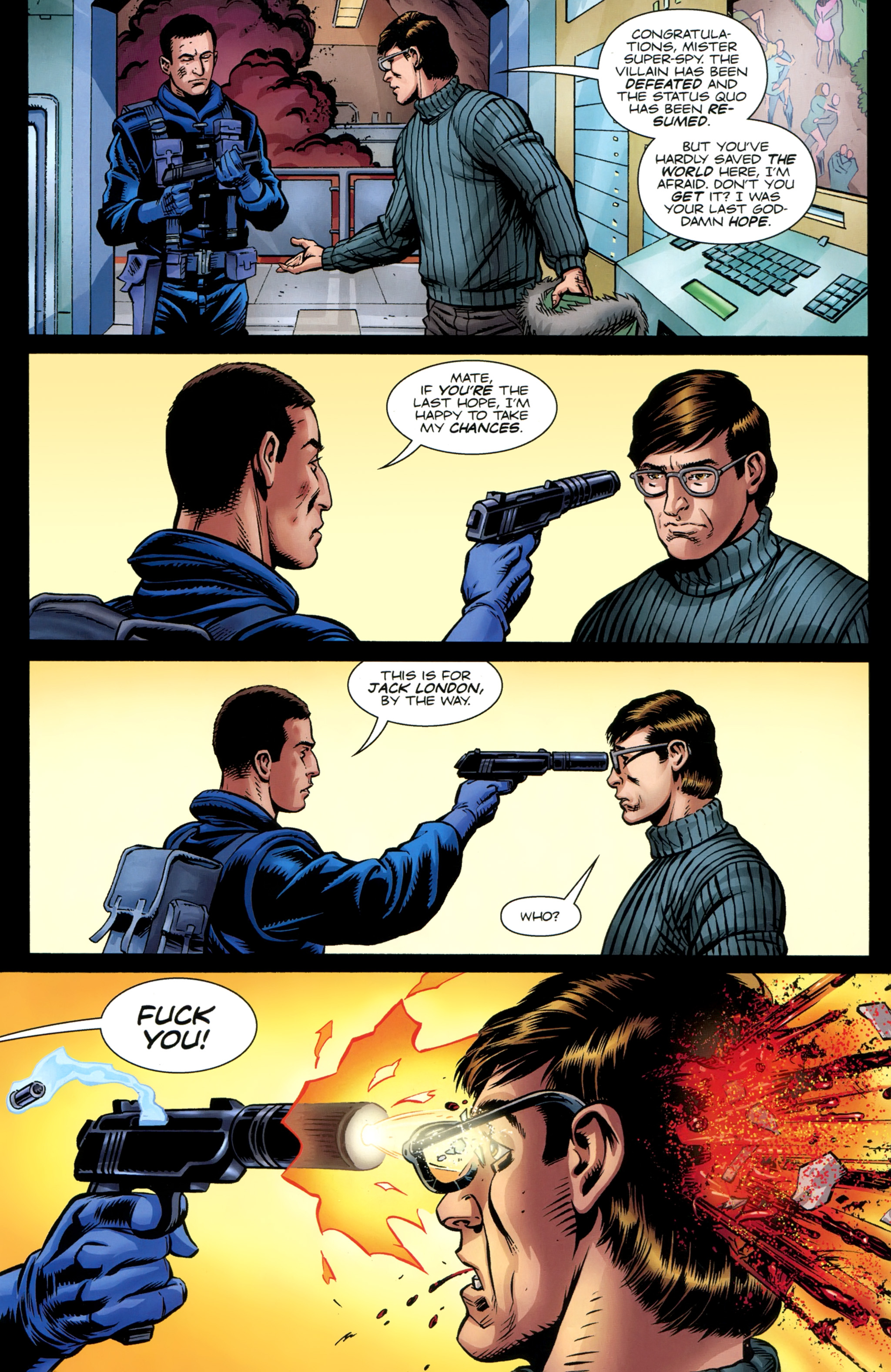 Read online Secret Service comic -  Issue #6 - 28