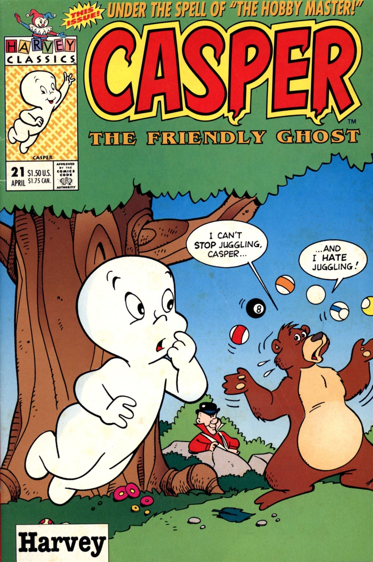 Casper the Friendly Ghost (1991) 21 Page 1