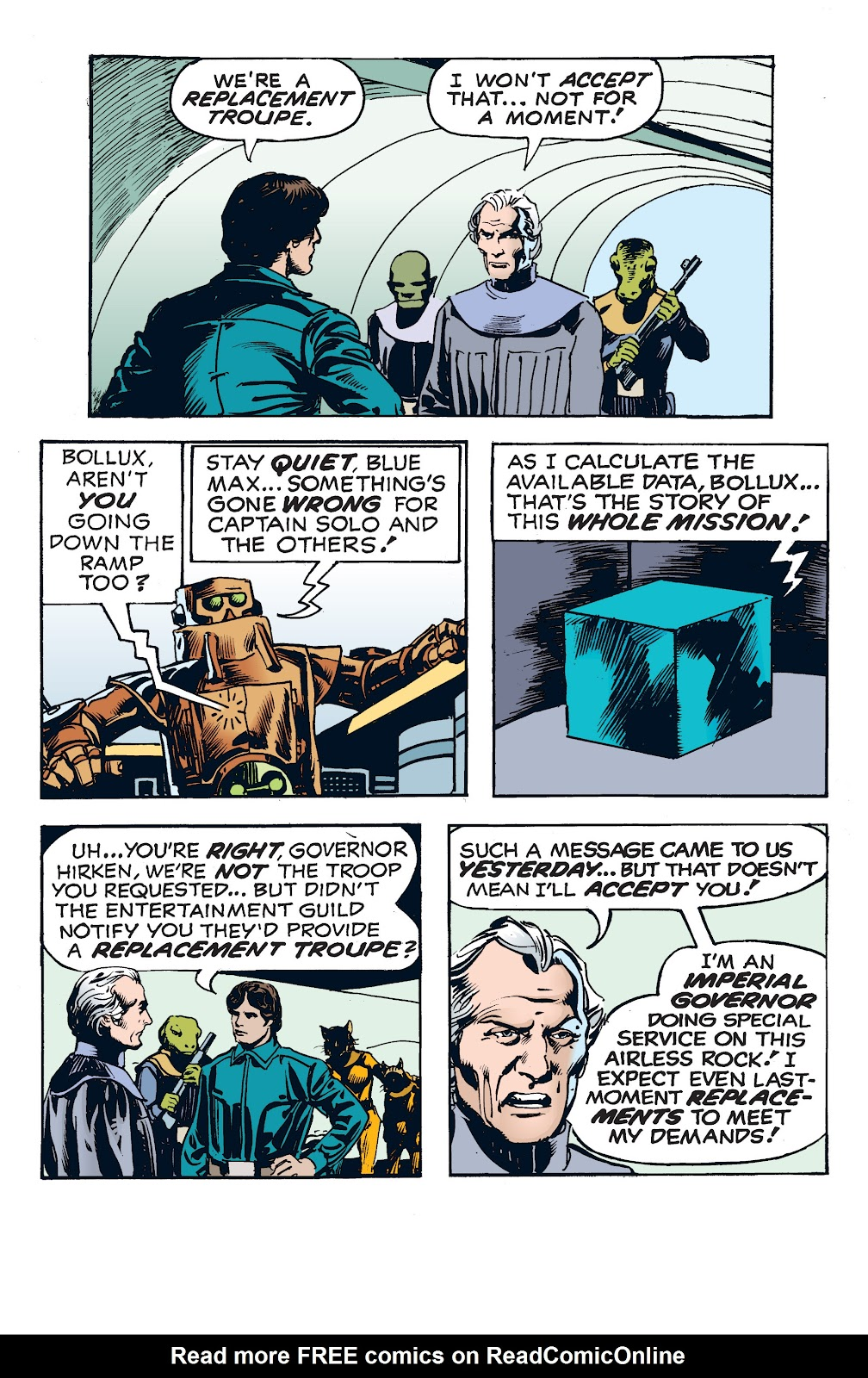 Read online Star Wars Legends: The Newspaper Strips - Epic Collection comic -  Issue # TPB (Part 4) - 51