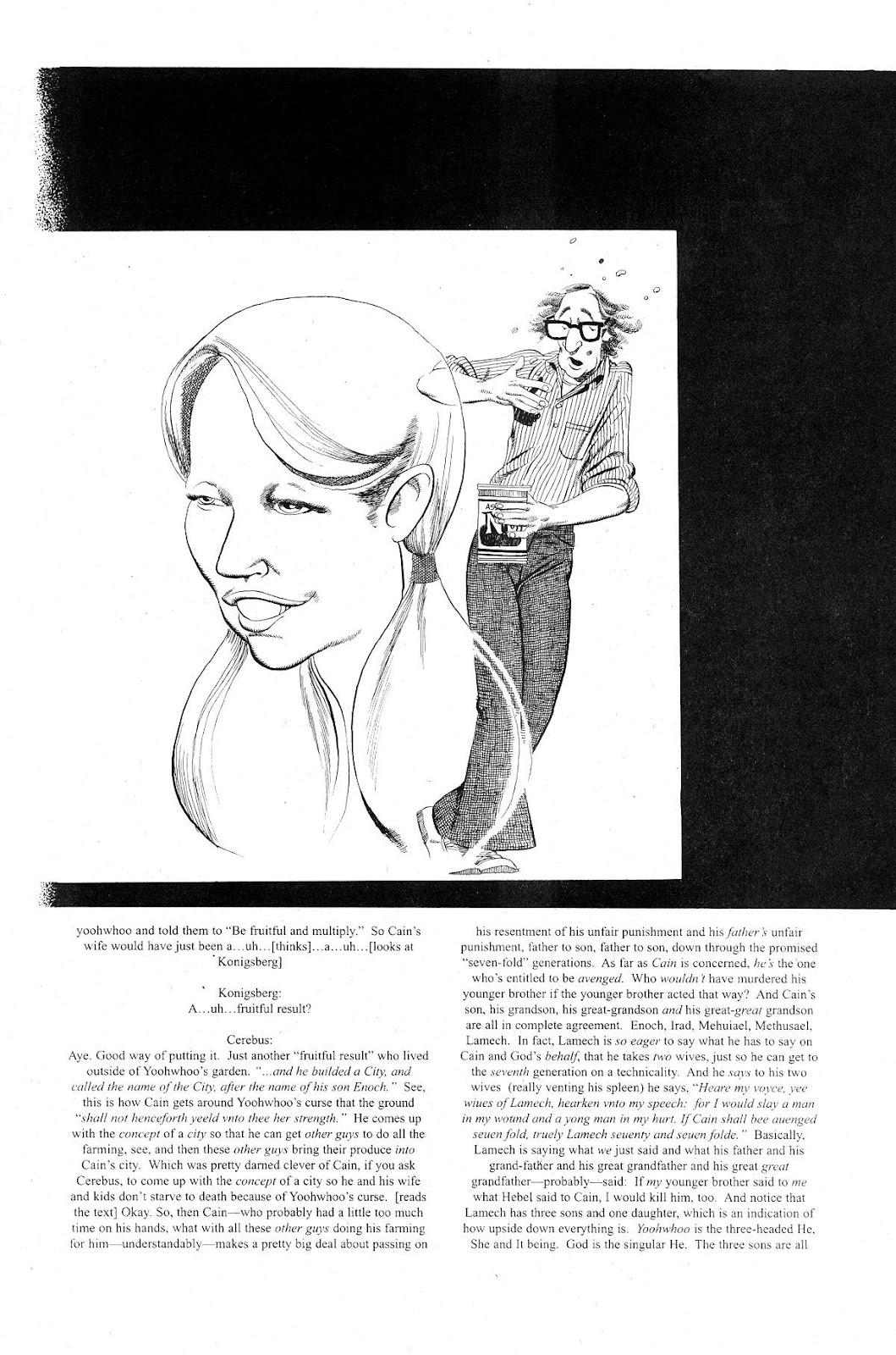 Cerebus Issue #281 #280 - English 16