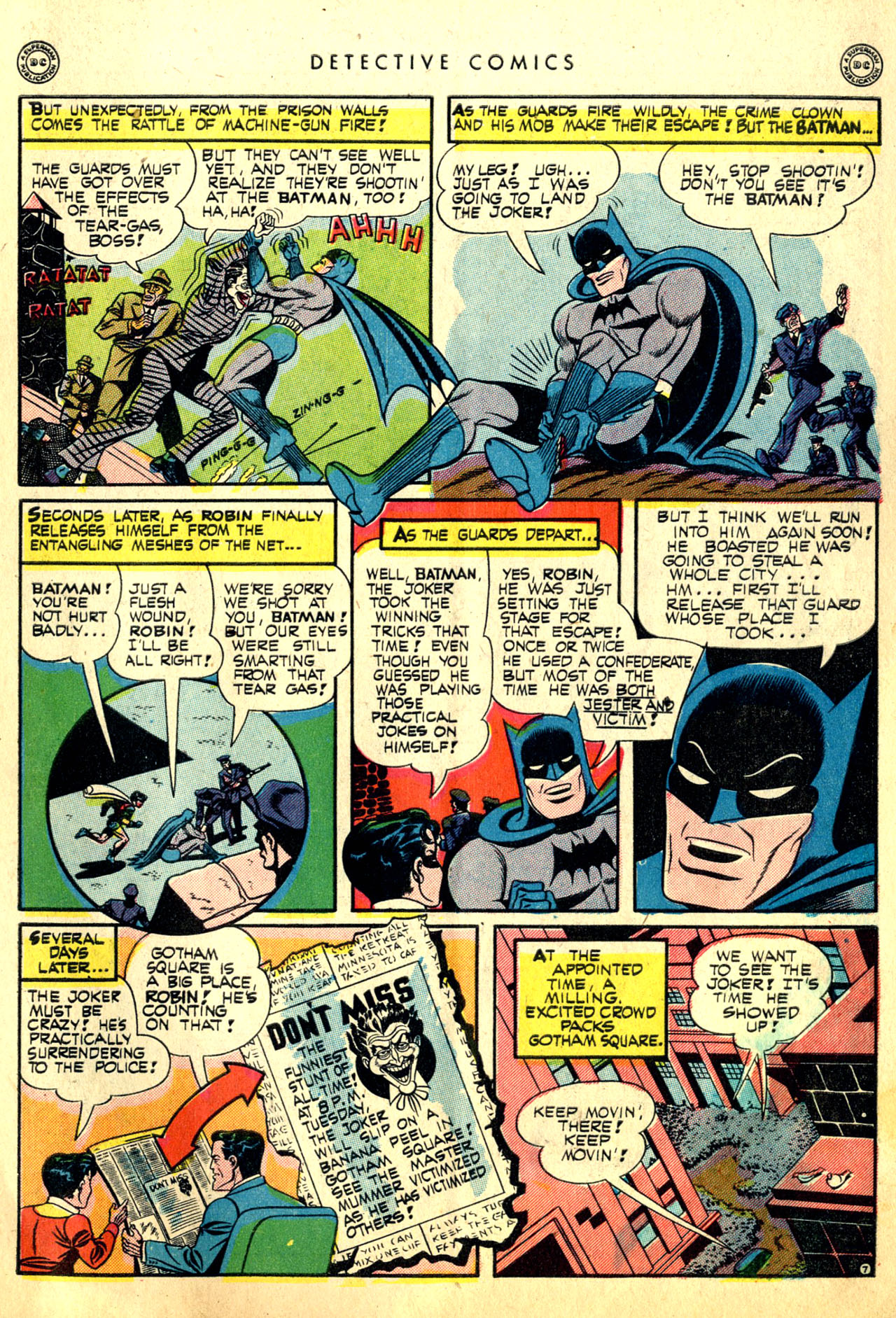 Read online Detective Comics (1937) comic -  Issue #91 - 9