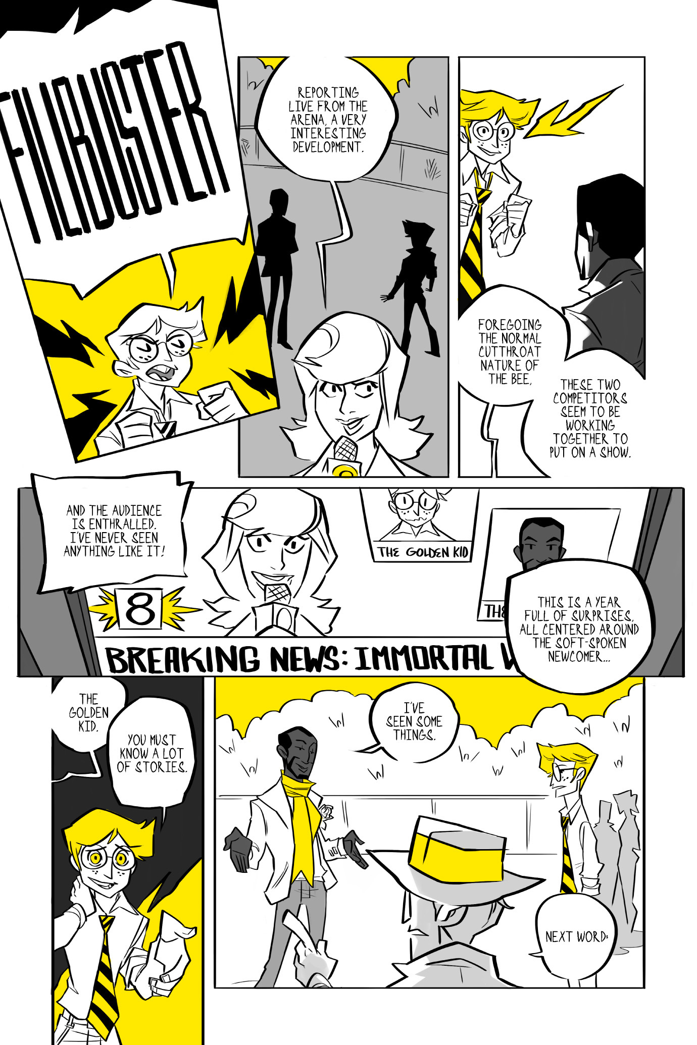 Read online BUZZ! comic -  Issue # TPB - 128