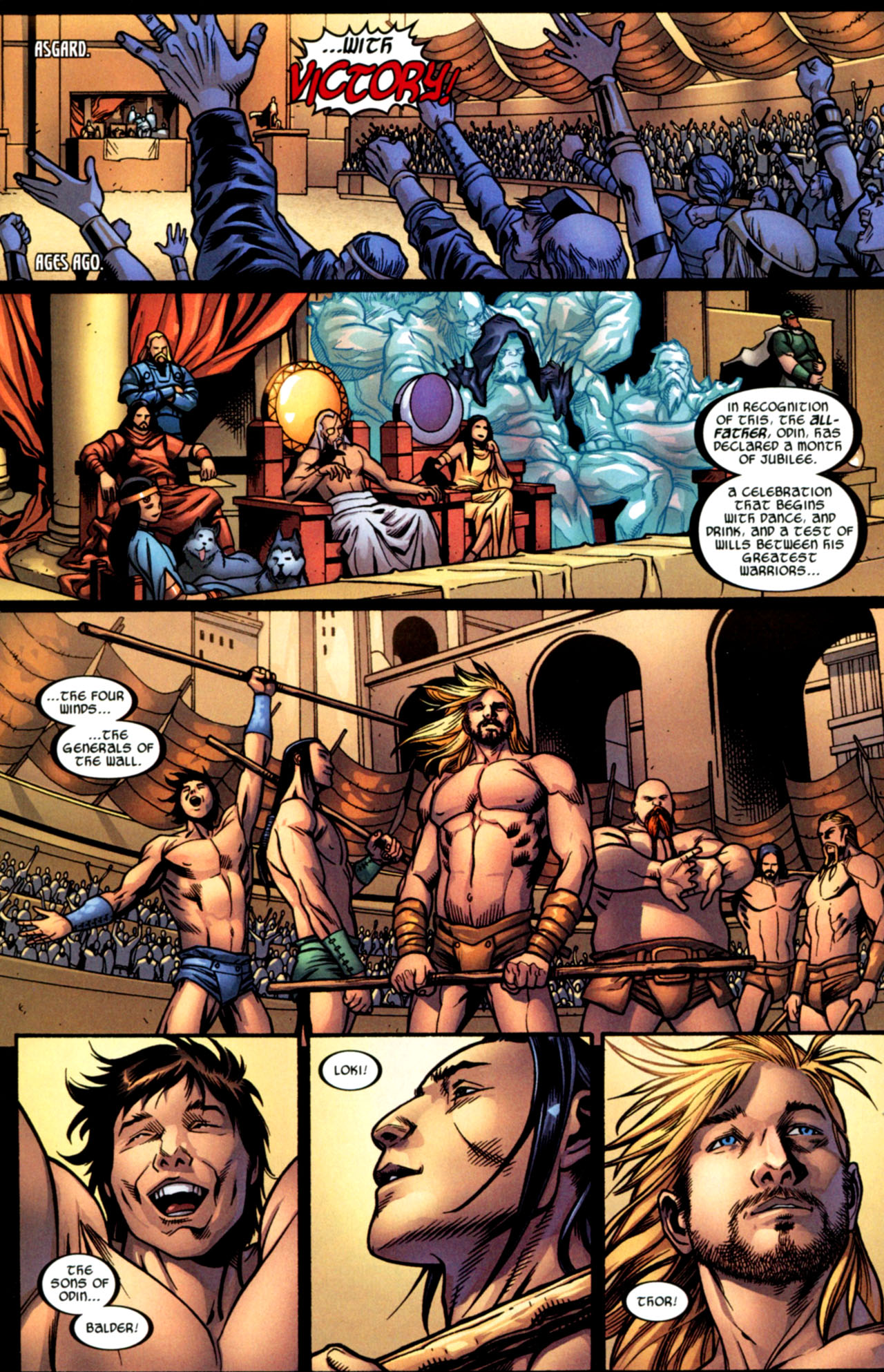 Read online Ultimate Thor comic -  Issue #2 - 5