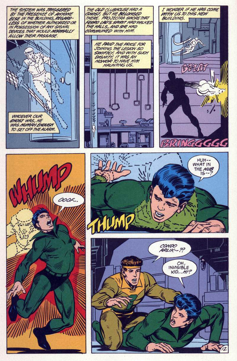 Legion of Super-Heroes (1984) 59 Page 12