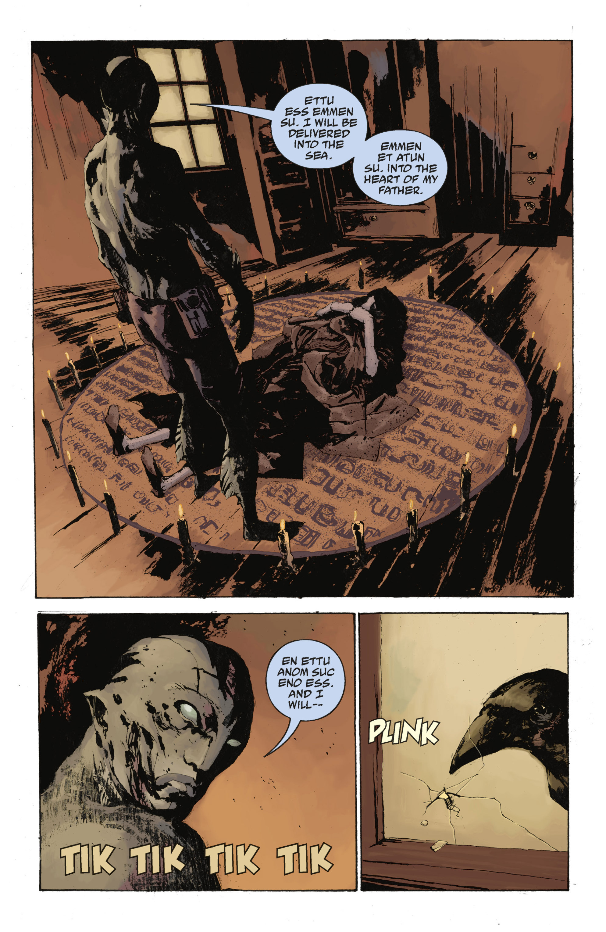 Read online Abe Sapien: The Drowning comic -  Issue #Abe Sapien: The Drowning _TPB - 88