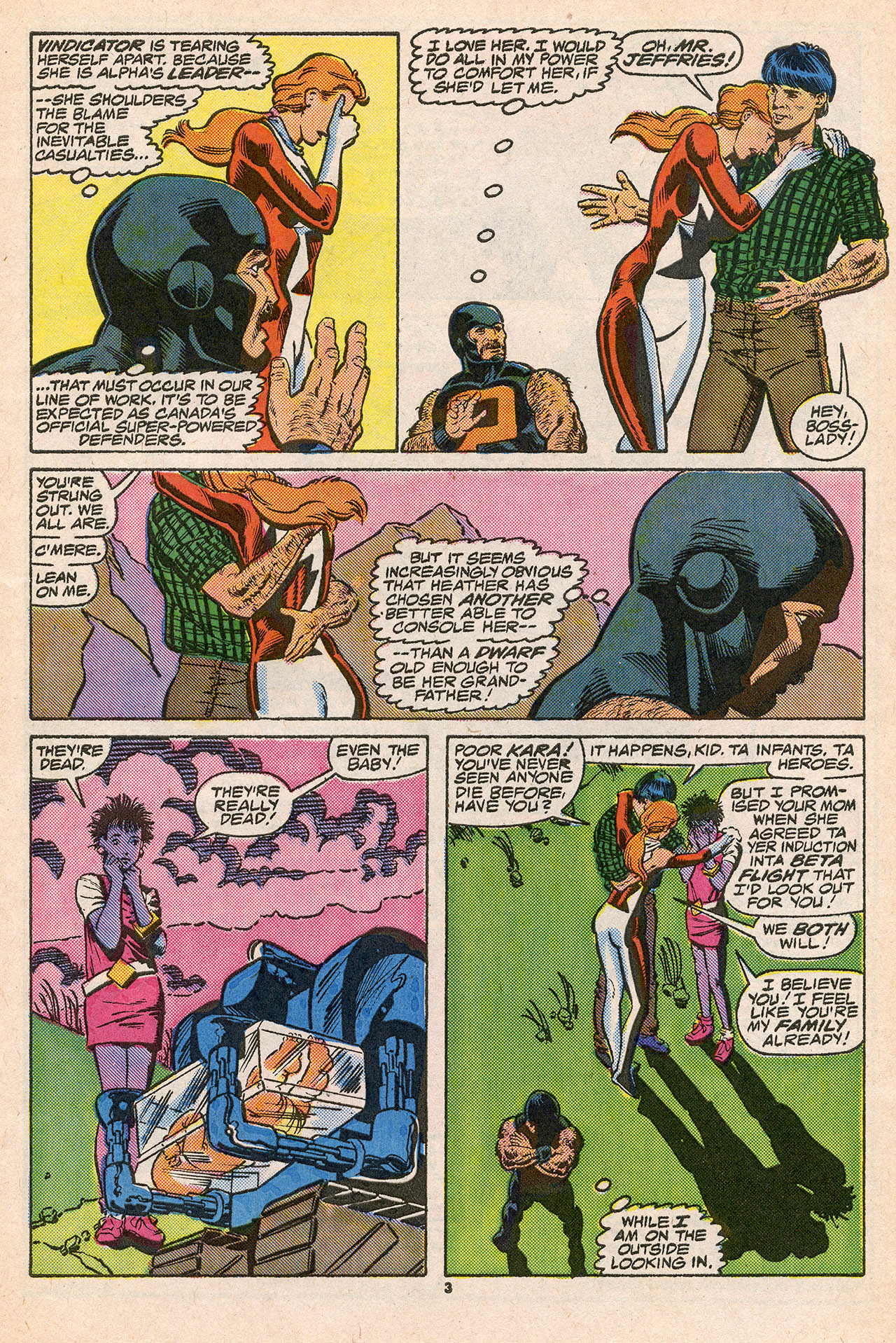 Read online Alpha Flight (1983) comic -  Issue #45 - 5