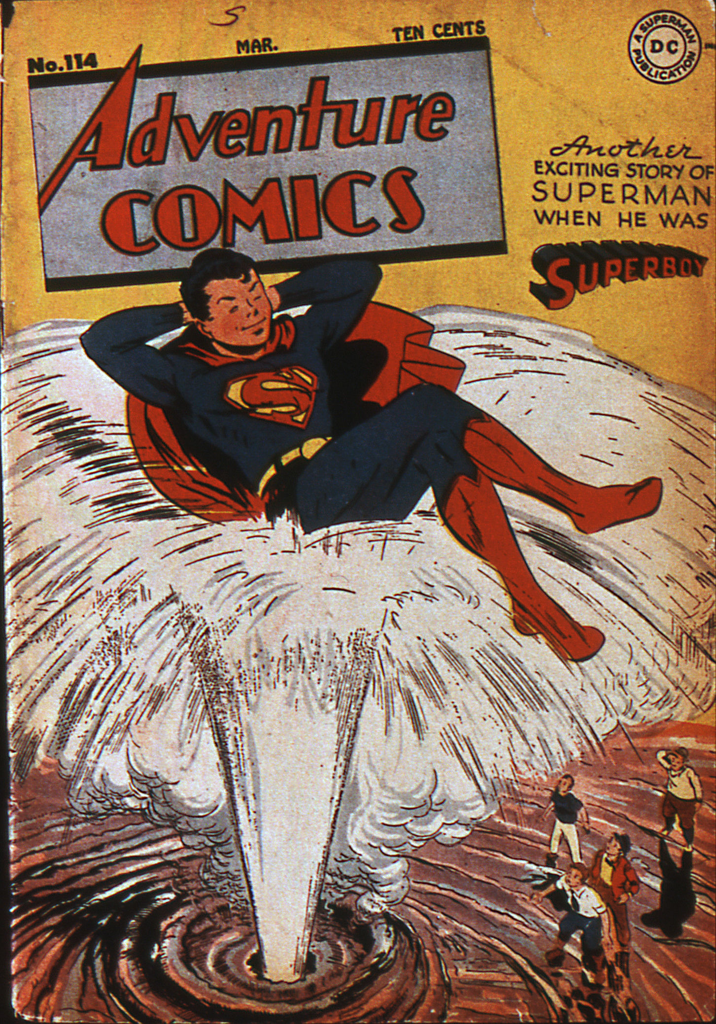 Read online Adventure Comics (1938) comic -  Issue #114 - 1