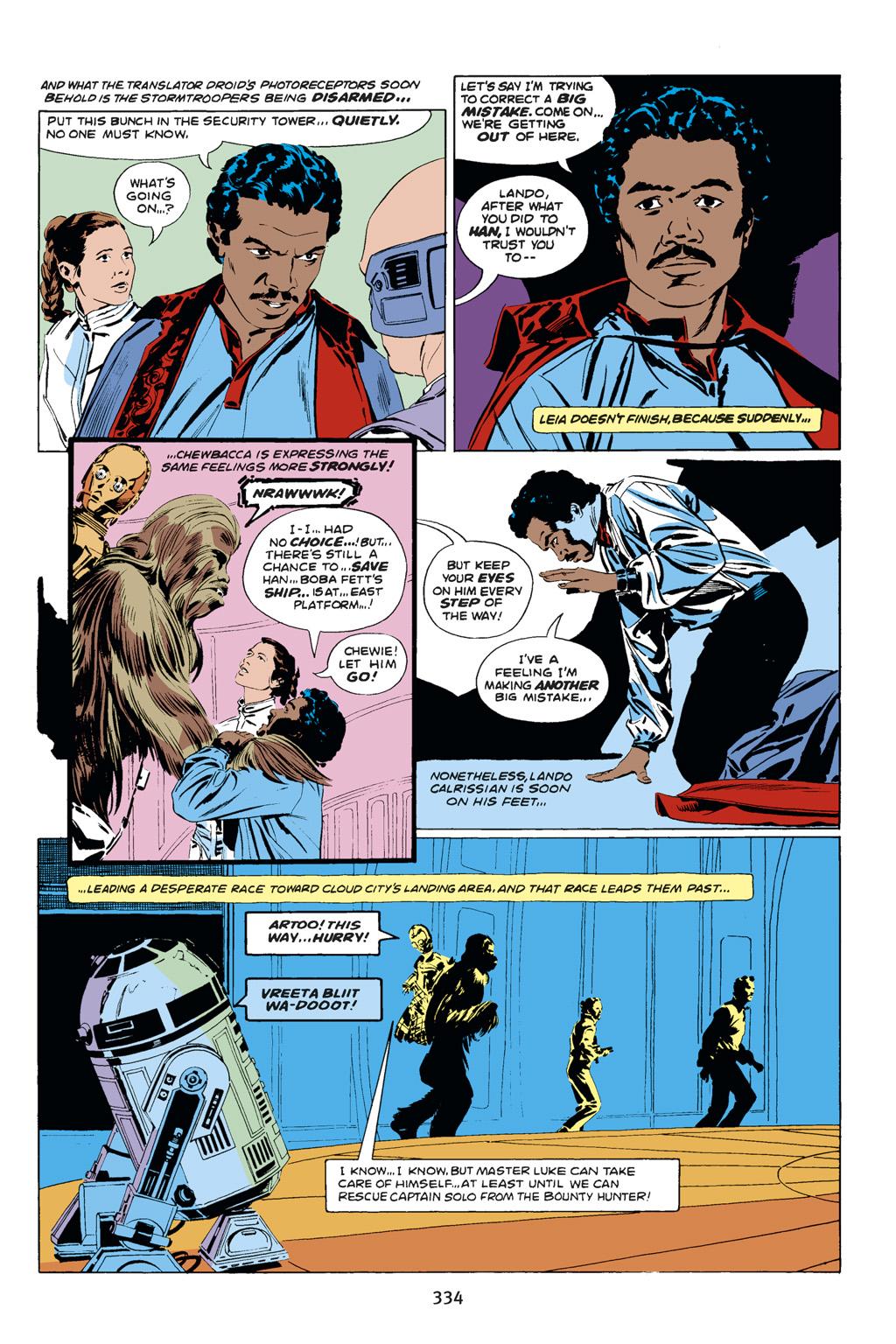 Read online Star Wars Omnibus comic -  Issue # Vol. 14 - 332