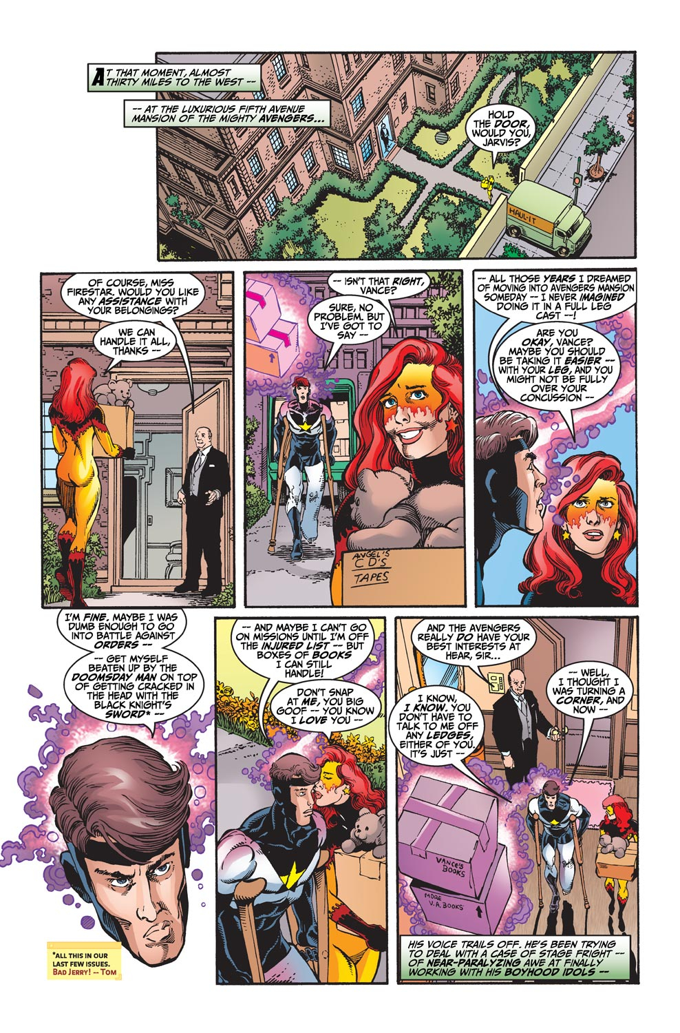Read online Avengers (1998) comic -  Issue #19 - 4